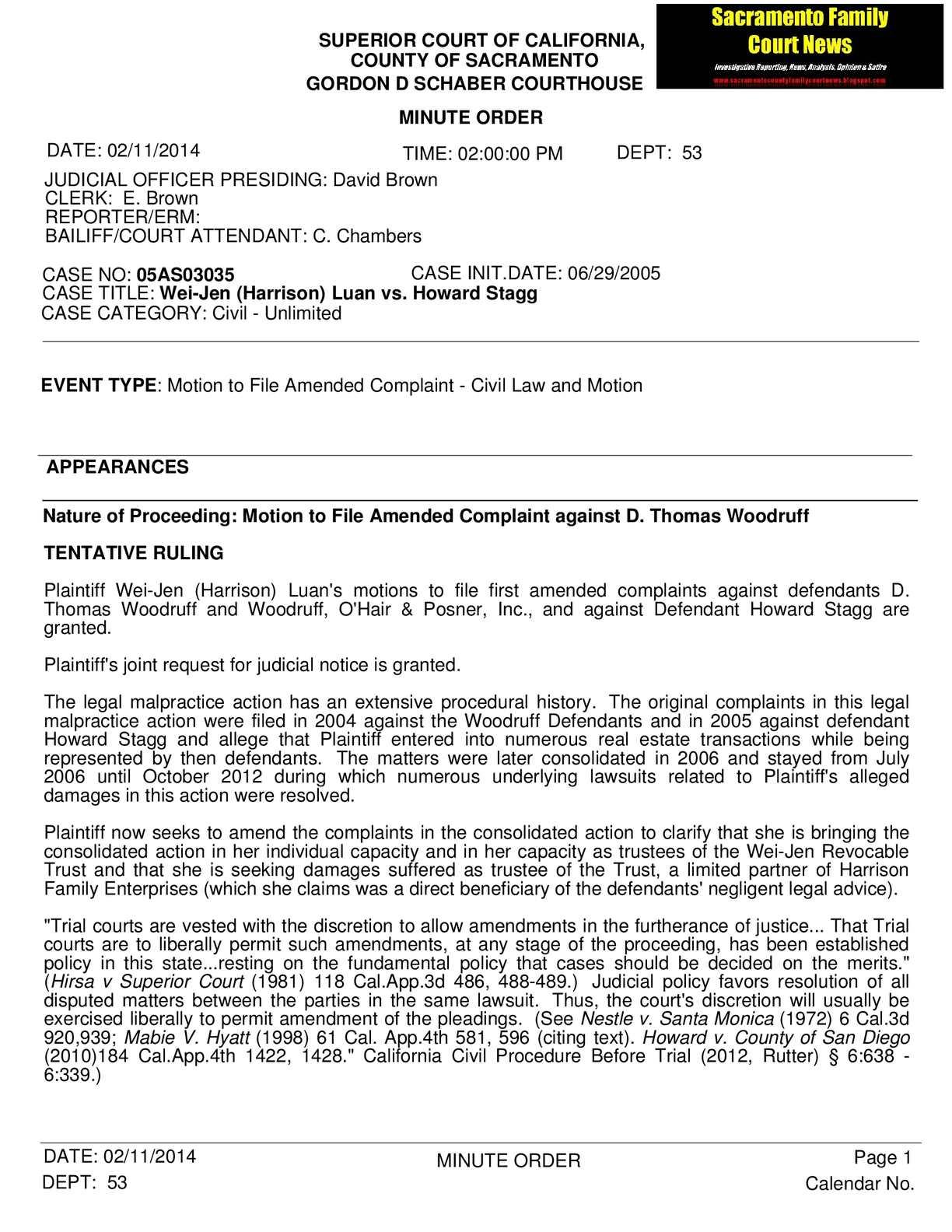 Calaméo - $1 Million Legal Malpractice Lawsuit Against