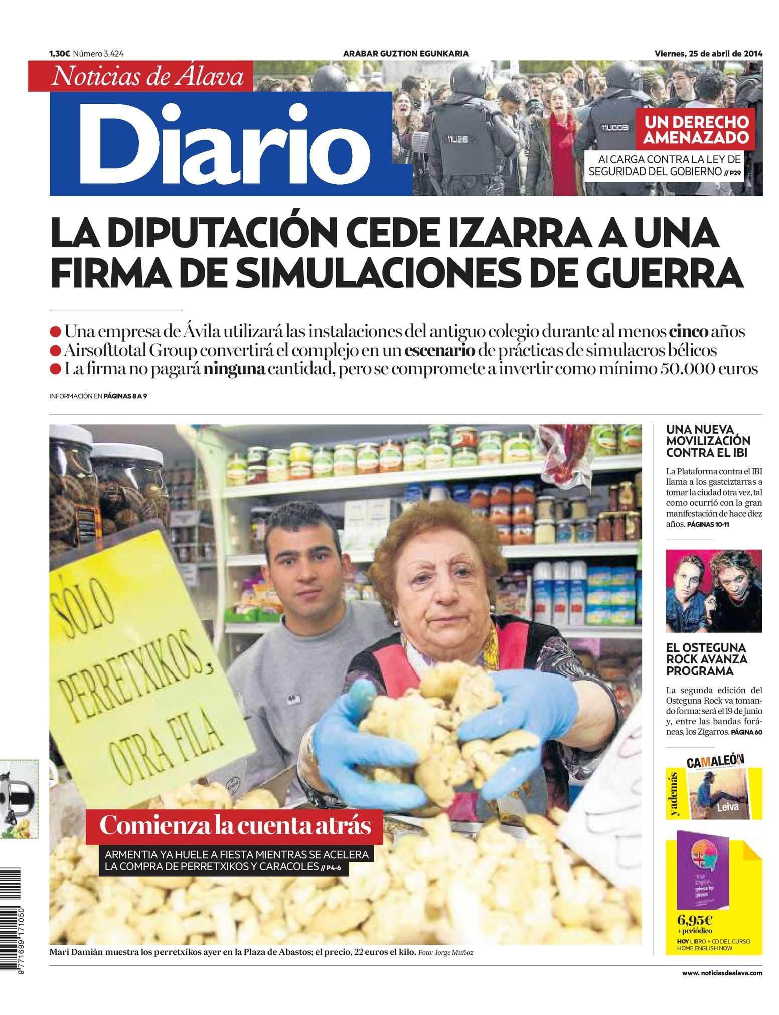 20140425 Diario Noticias Álava Calaméo De j4RL35A