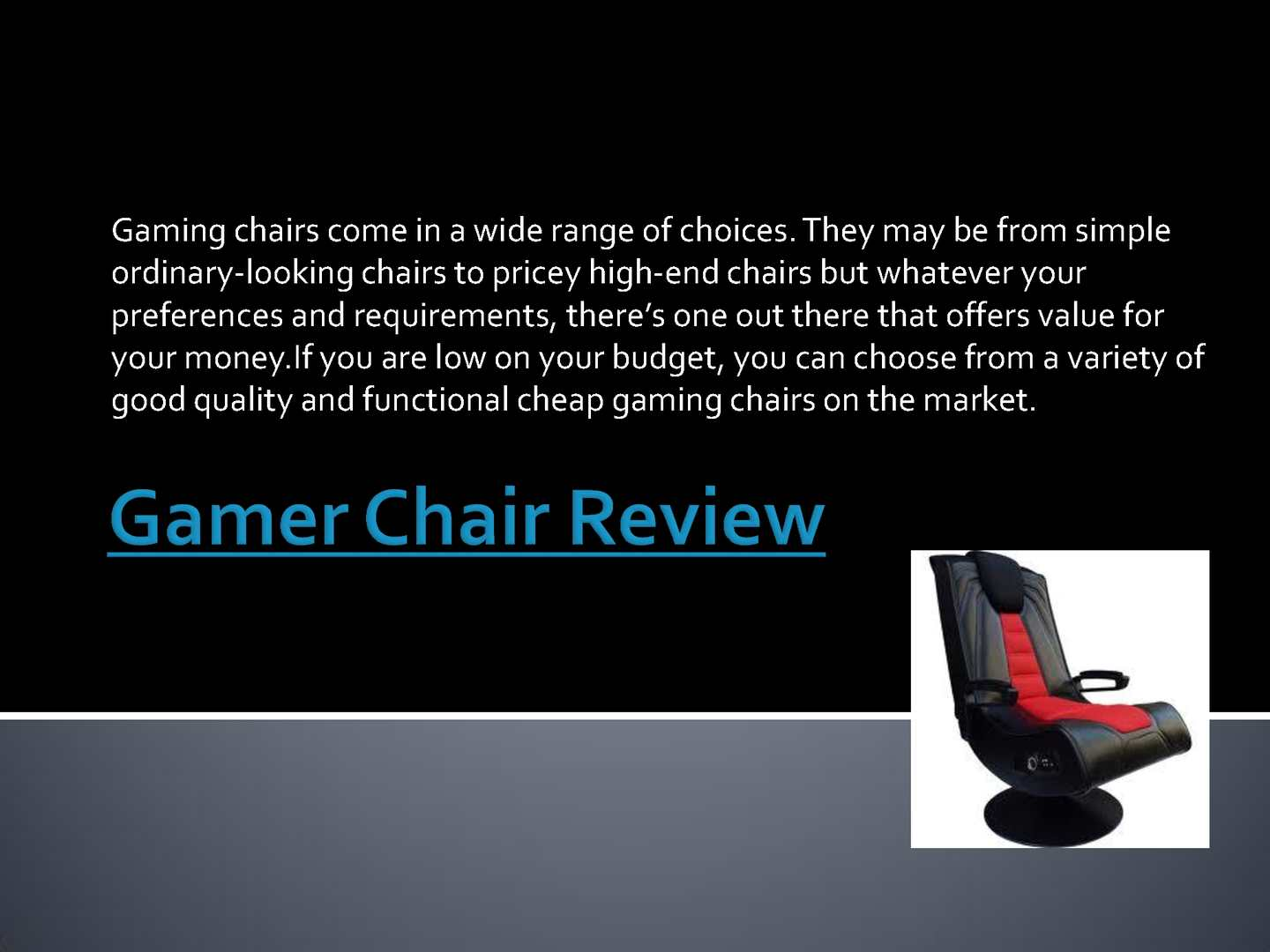 Surprising Calameo Gamer Chair Review Dailytribune Chair Design For Home Dailytribuneorg