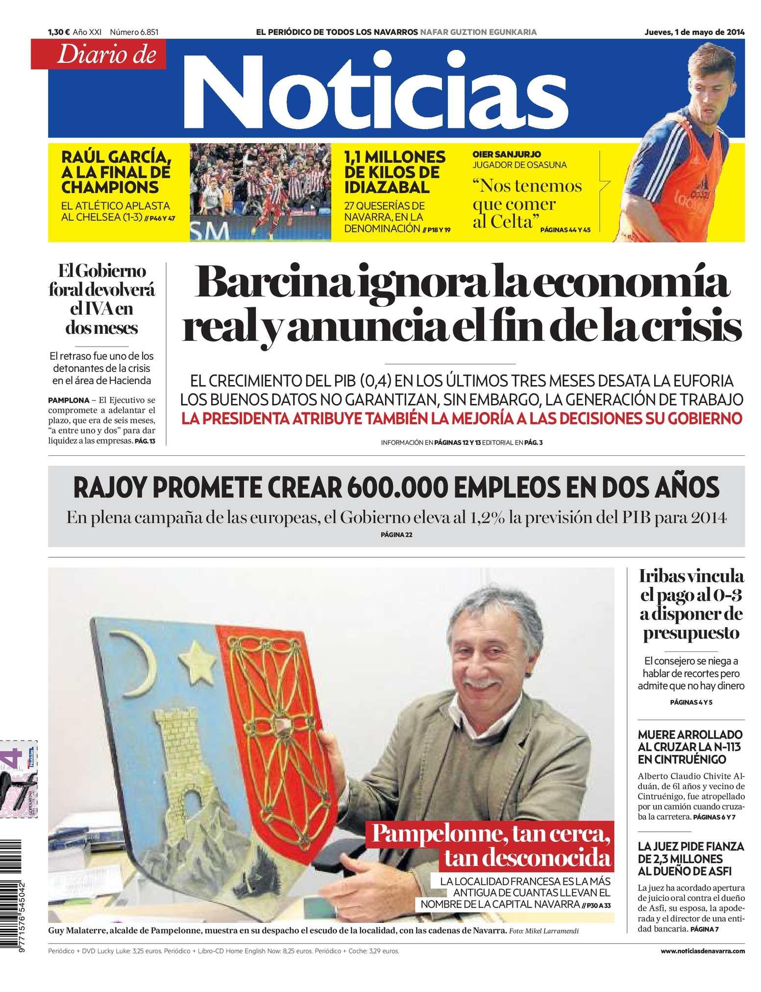 half off 55698 48d27 Calaméo - Diario de Noticias 20140501