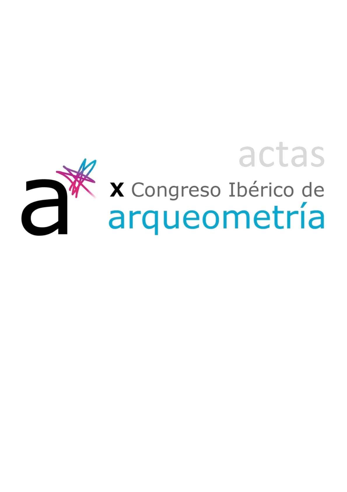 e2f3b037055c Calaméo - Actas del X Congreso Ibérico de Arqueometría