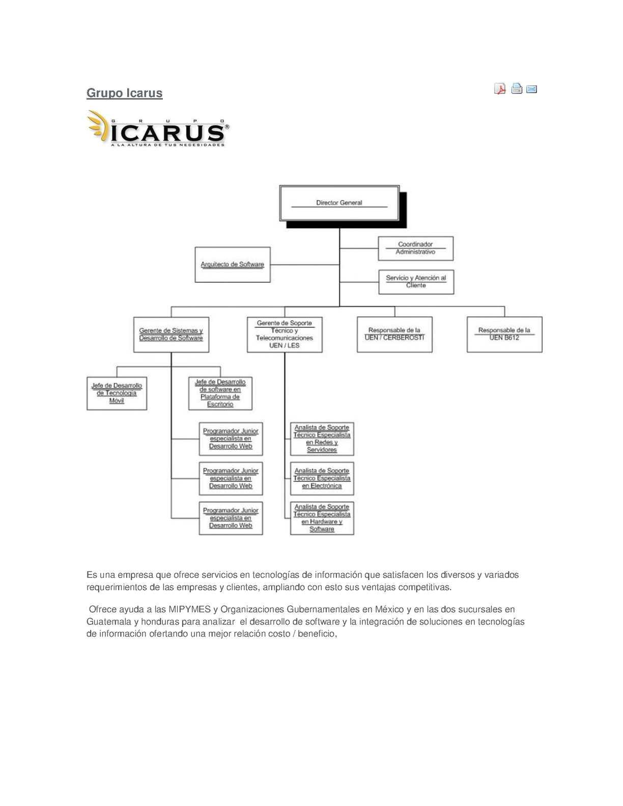 Calaméo Estructura Organizacional De Empresas