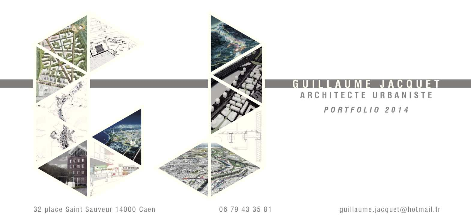 Calaméo Guillaume Jacquet Architecte Urbaniste Portfolio 2014