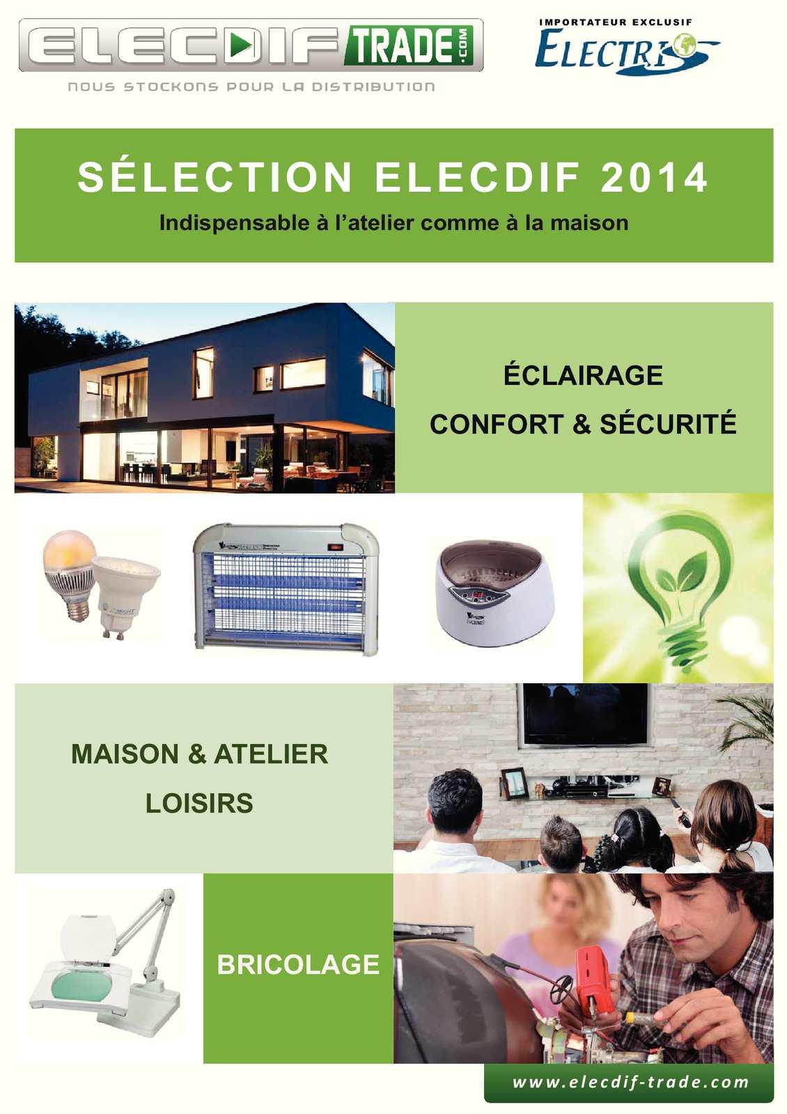 Calaméo TradeBrochure Calaméo Elecdif Import TradeBrochure Produits Elecdif 9ID2WHE