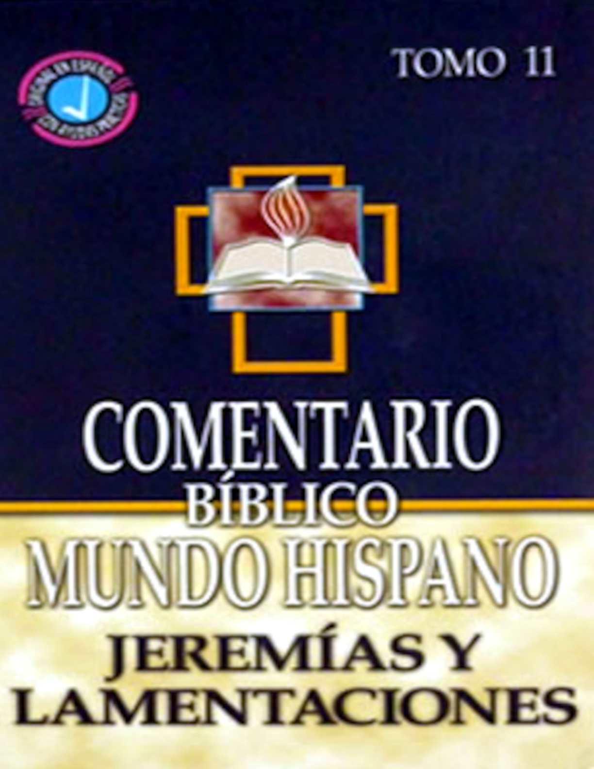 Calam O Comentario B Blico Mundo Hispano Tomo 11 Jerem As Y  # Muebles Sitiales Persa Bio Bio