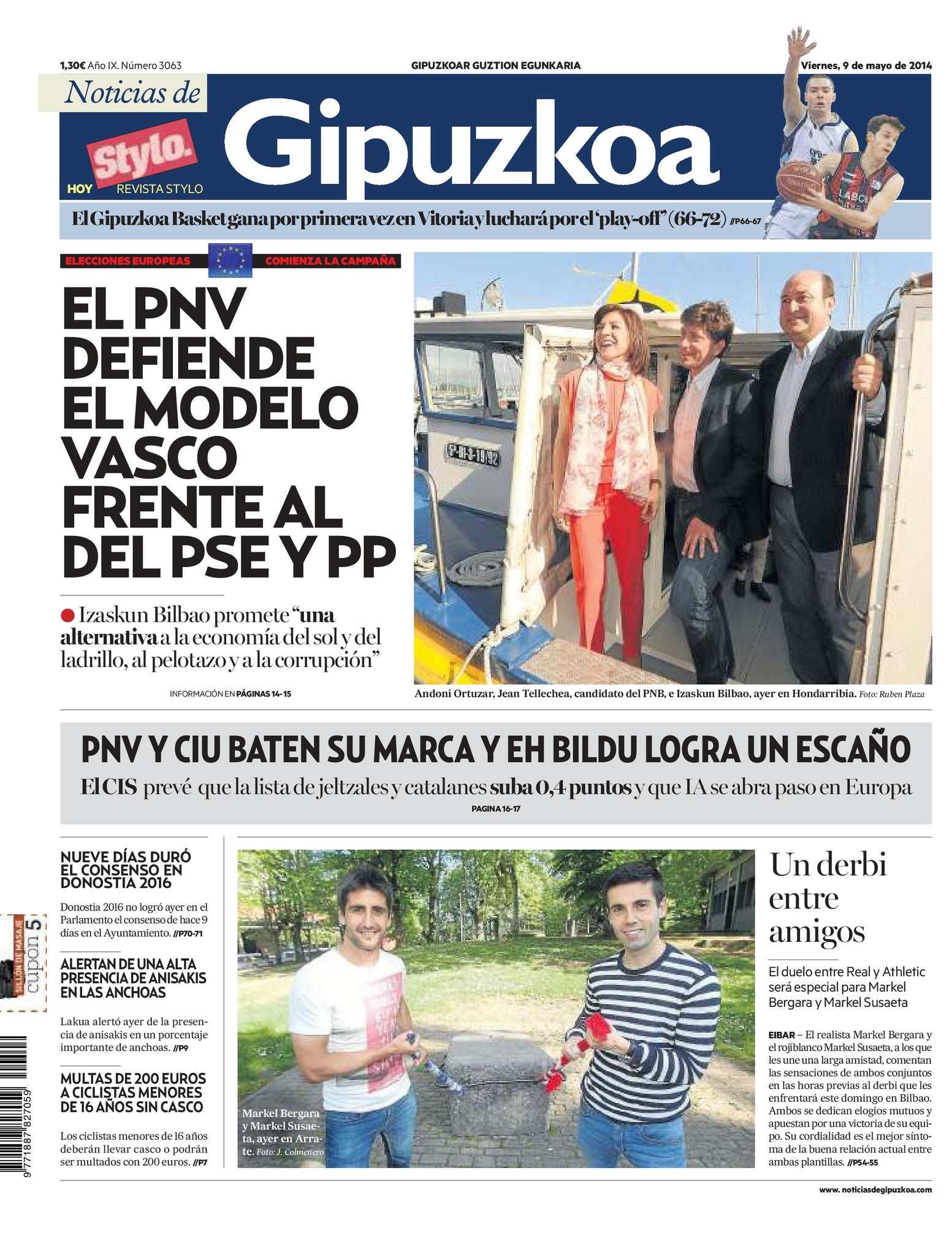 a10e12f105f0e Calaméo - Noticias de Gipuzkoa 20140509