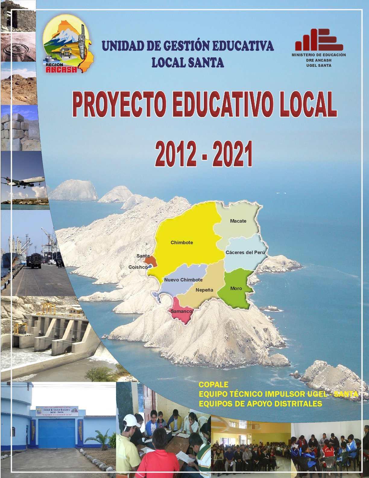 Calaméo - PROYECTO EDUCATIVO LOCAL (PEL-Santa)