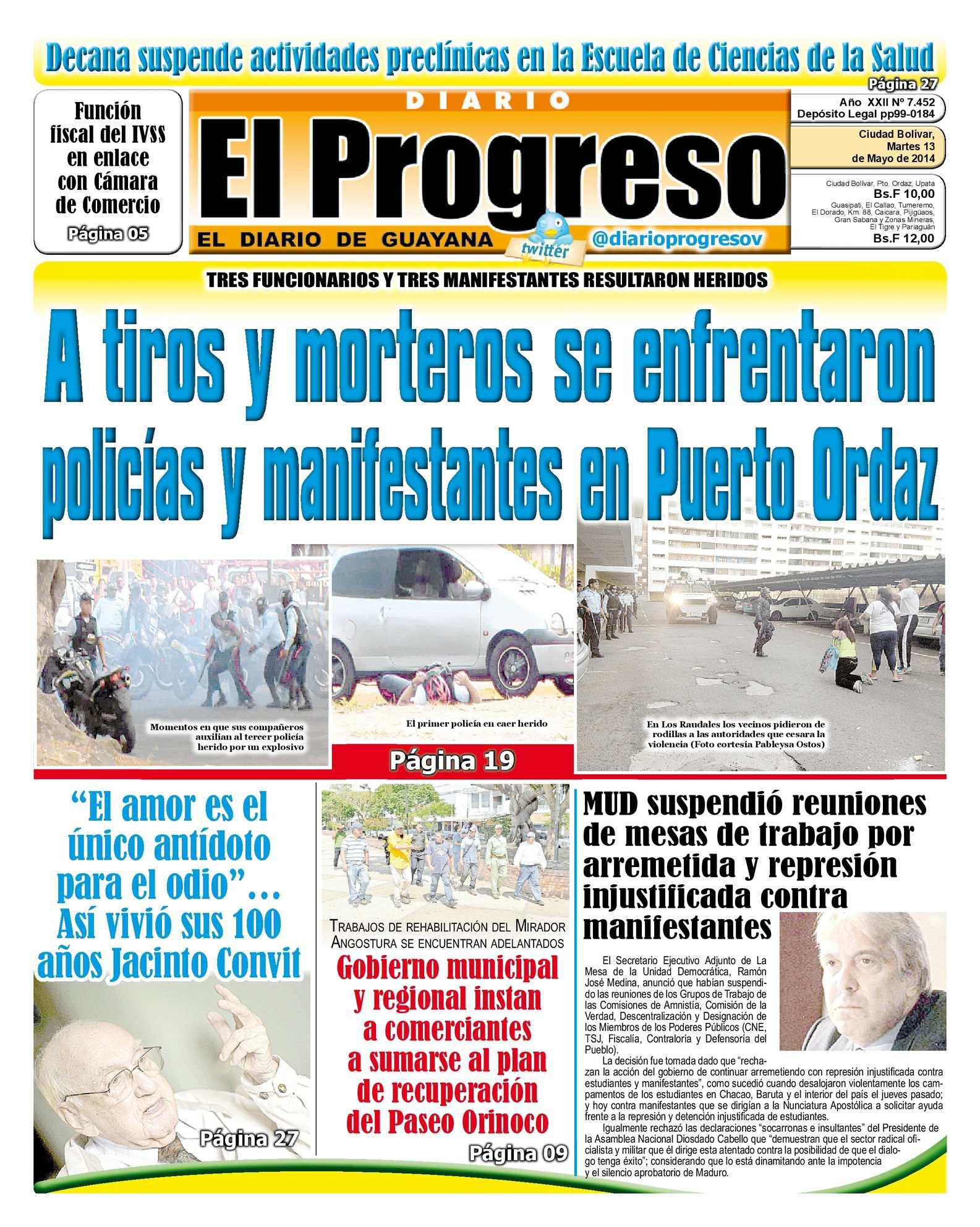 673ab9f39 Calaméo - DIARIO EL PROGRESO EDICIÓN DIGITAL 13-05-2014