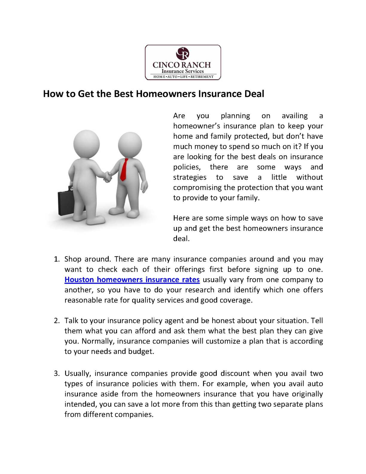 Homeowners Insurance Company >> Calameo How To Get The Best Homeowners Insurance Deal