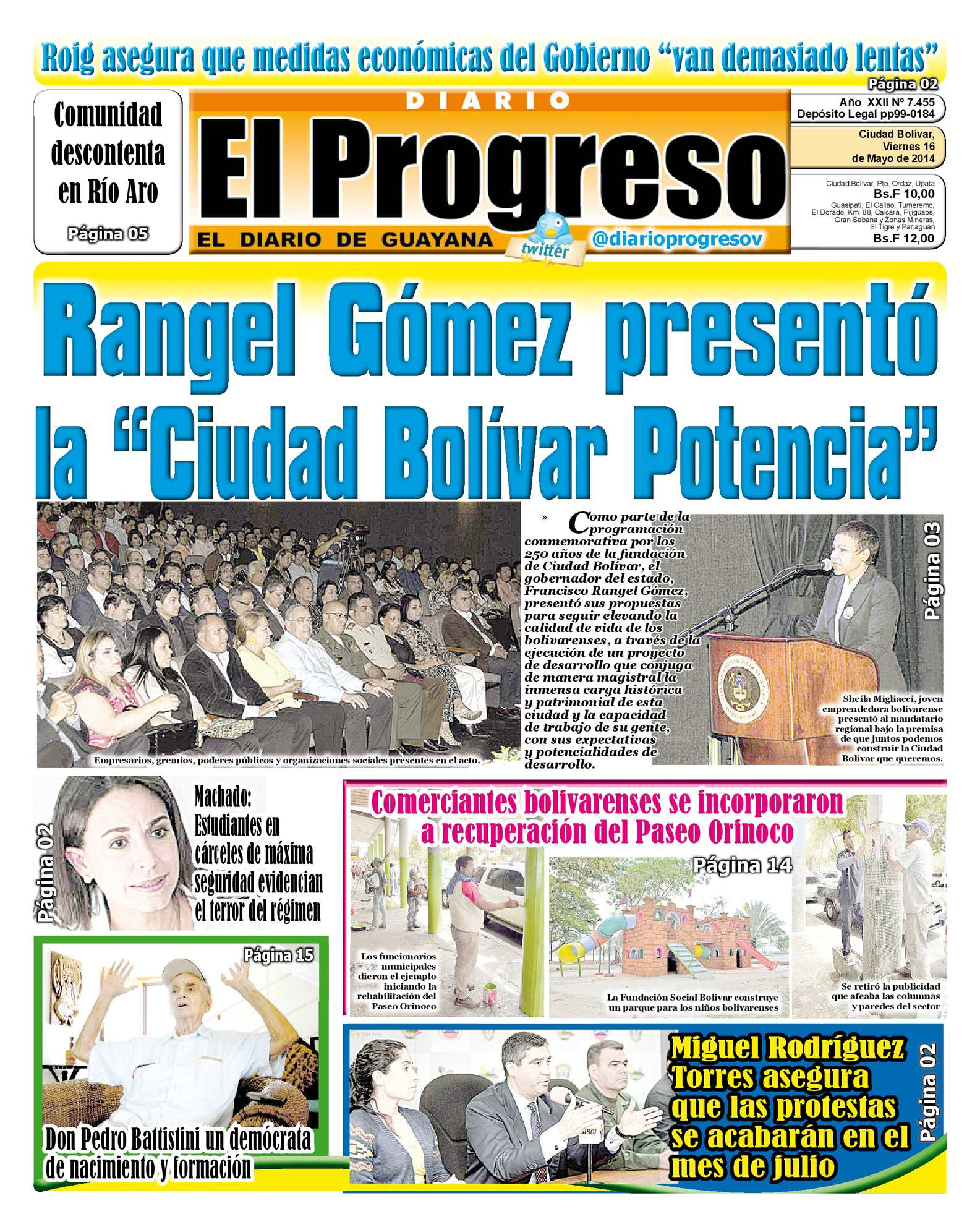 Calaméo - DIARIO EL PROGRESO EDICIÓN DIGITAL 16-05-2014 fe2924284e6