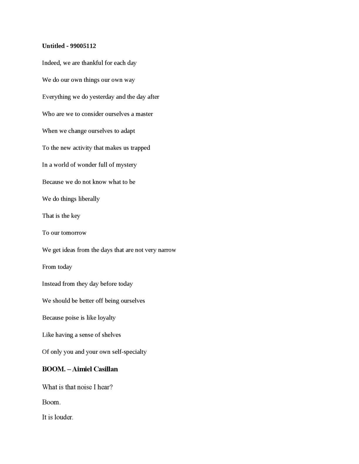 Calaméo - Poems