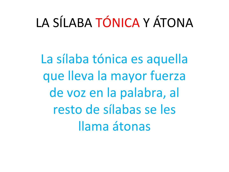 Calaméo La Sílaba Tónica Y átona