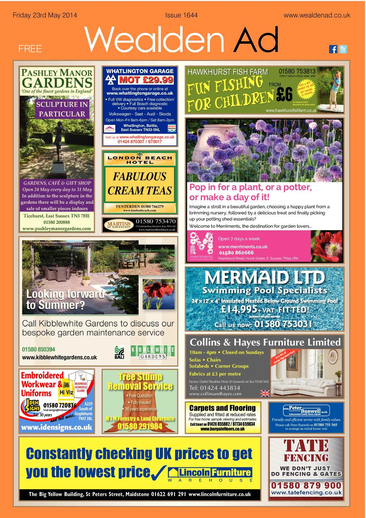 Calamo Wealden Advertiser 23 05 2014 Handle Rem Kanan Kc Mio