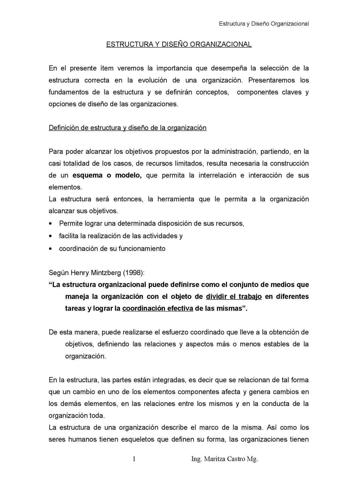 Calaméo Estructuras Organizacionales