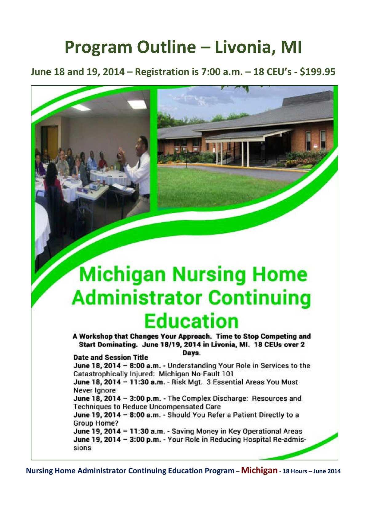 Ceu For Nursing Home Administrators Nice Houzz