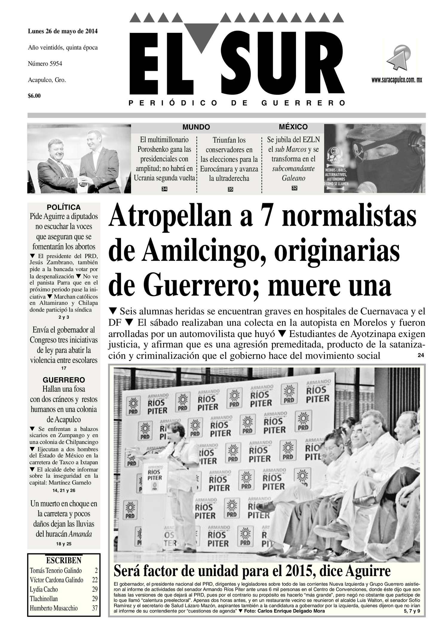 Calaméo - El Sur Lunes 26052014.pdf 0c972f65e45e