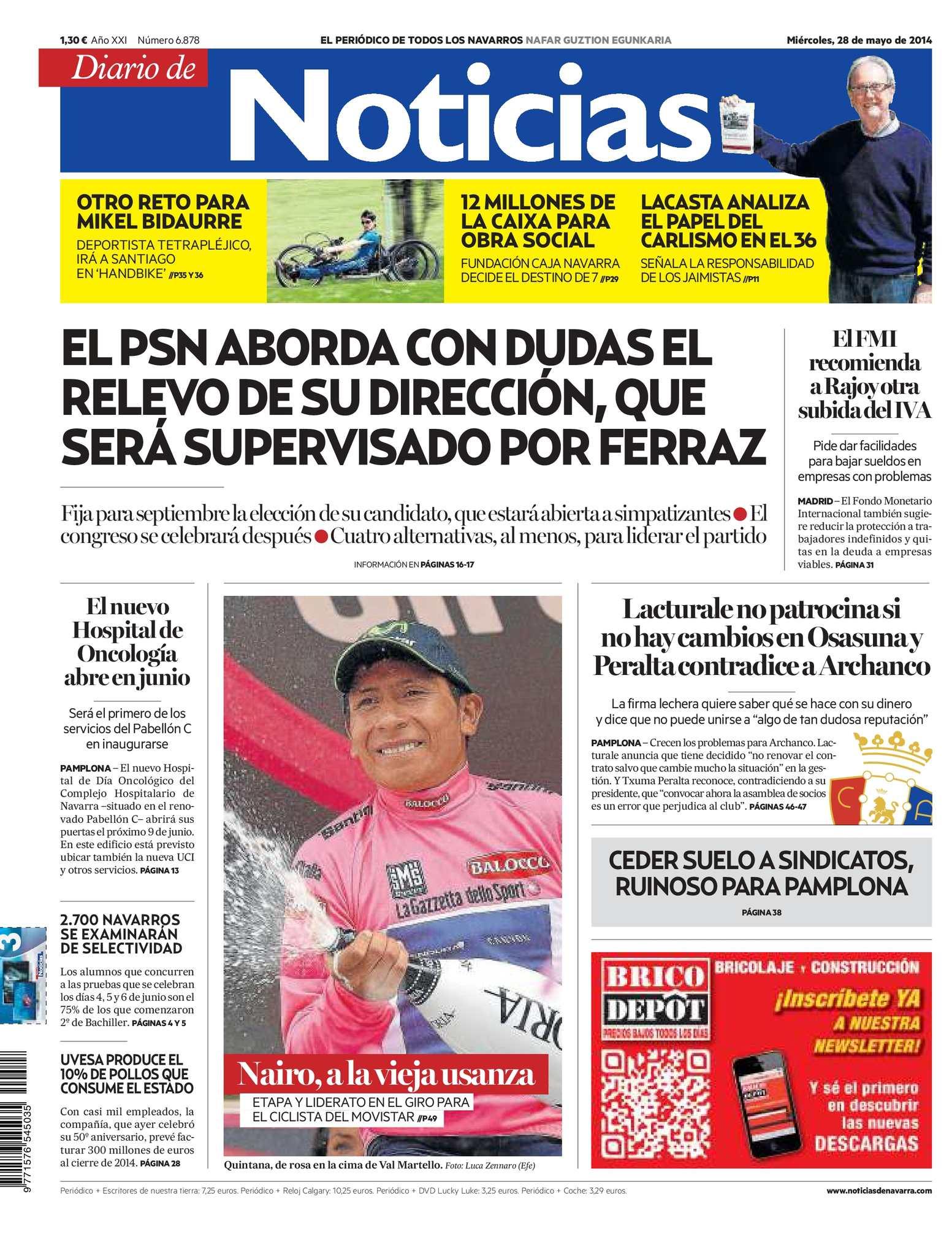 Calaméo Noticias Diario De Diario De Calaméo 20140528 nwm80OvN