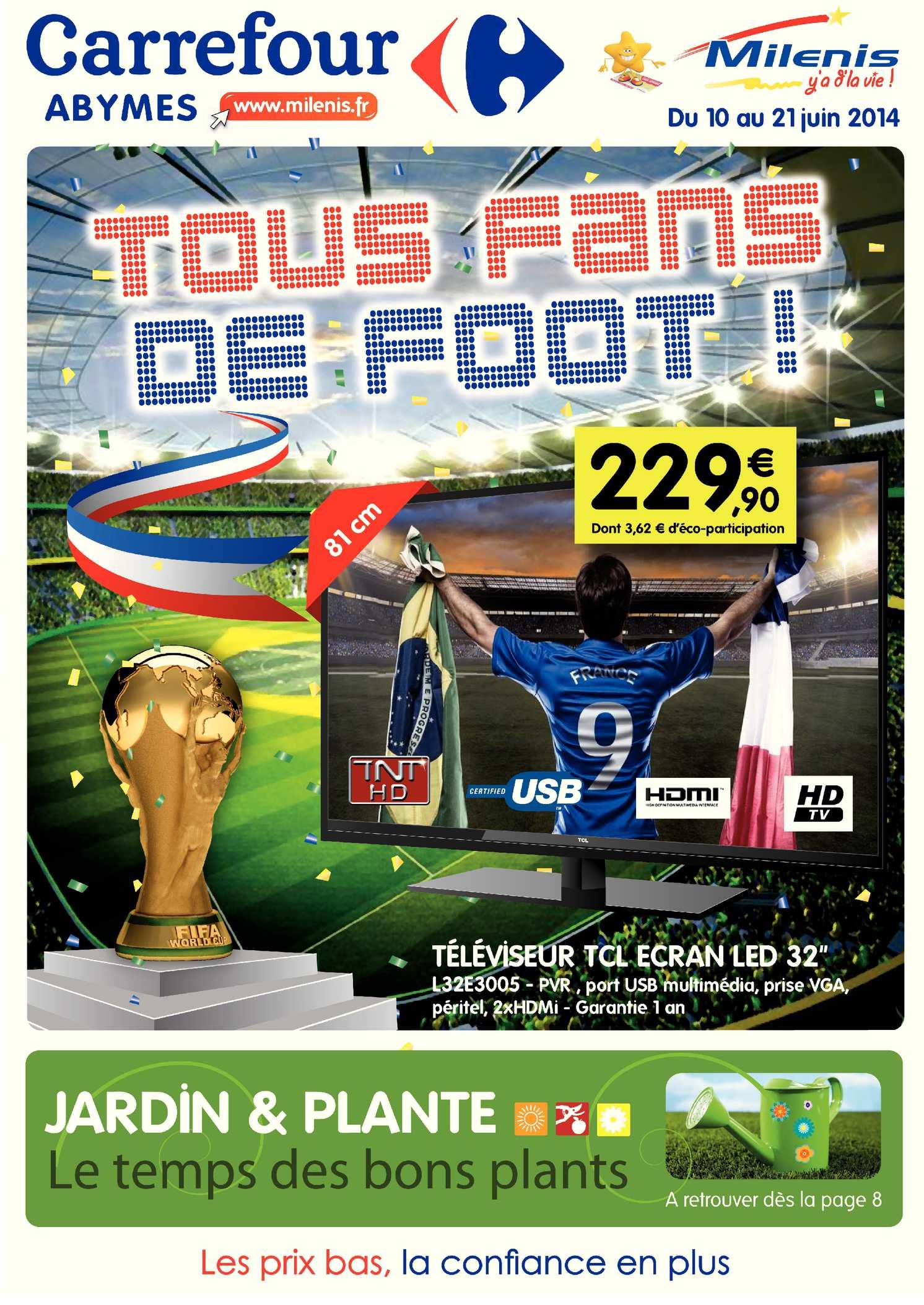 Calameo Carrefour Milenis Tous Fans De Foot