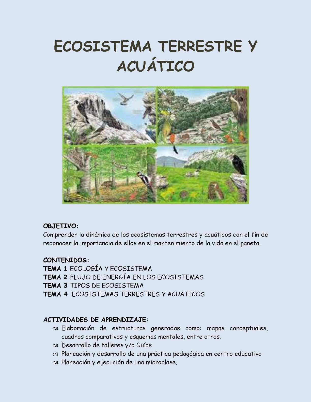 Calaméo Dinámica De Los Ecosistemass