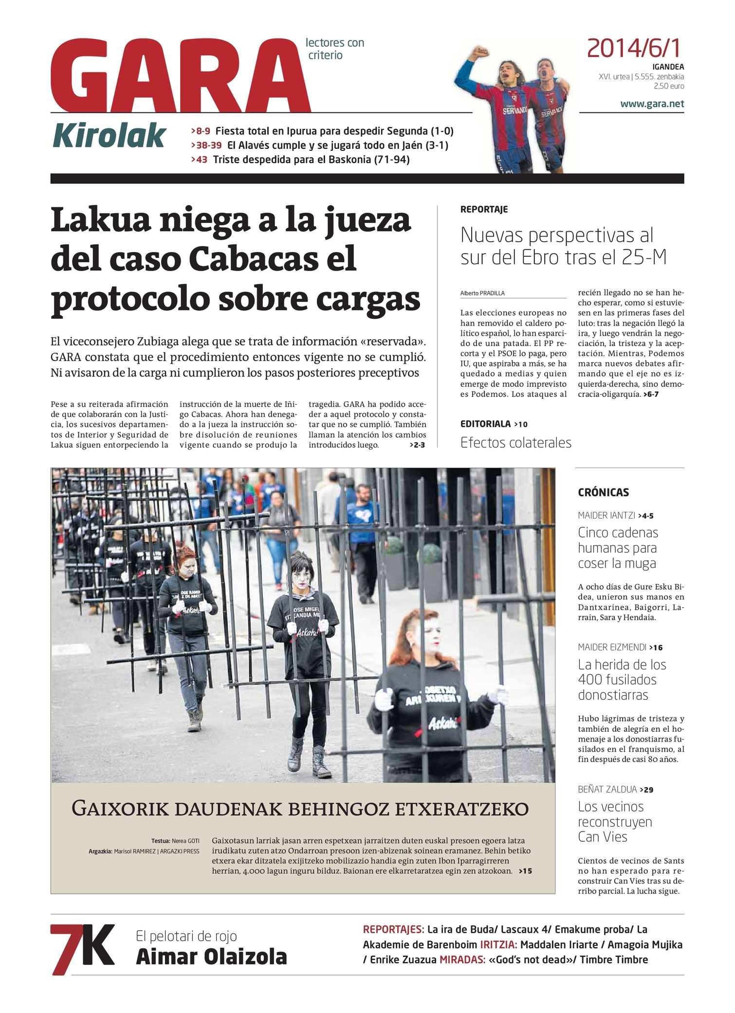 a5fdb62ec026 Calaméo - GARA 20140601