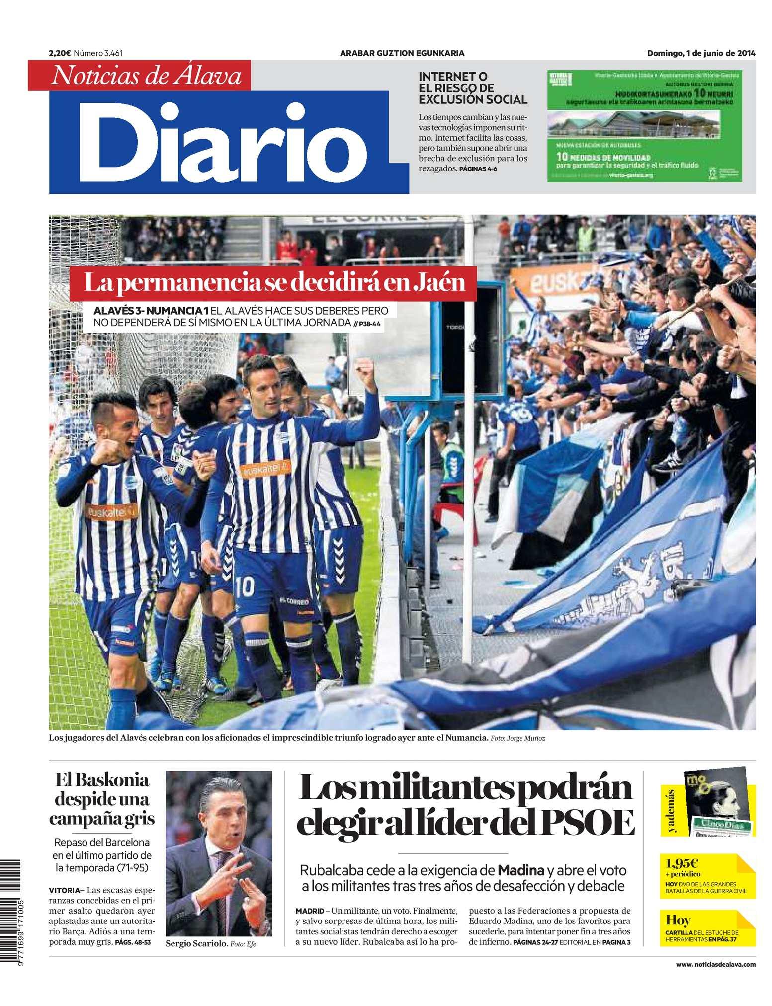 Calaméo Diario de Noticias de Álava 20140601