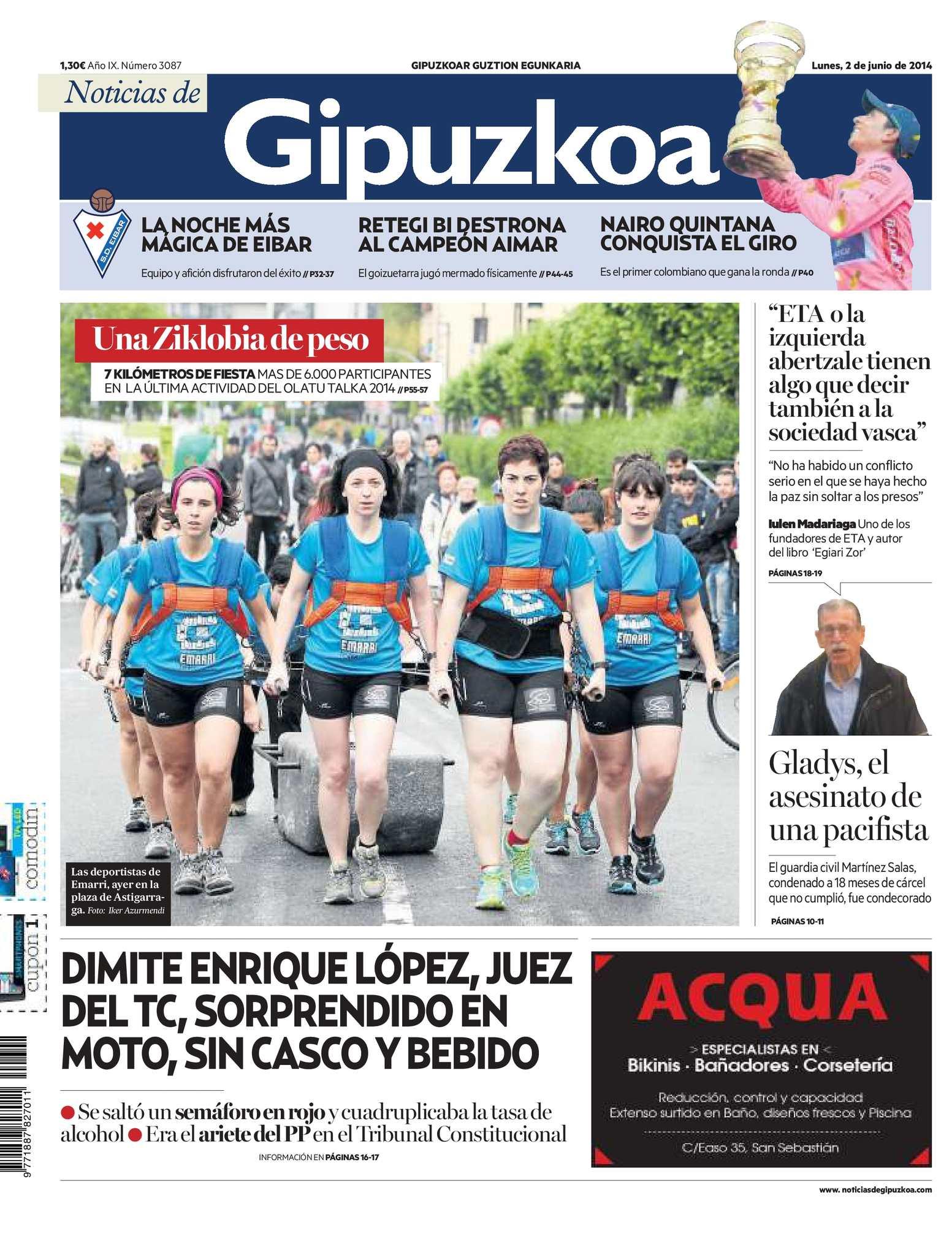 20140602 Noticias Gipuzkoa 20140602 Calaméo De De Gipuzkoa Calaméo Noticias shtdQrxBCo