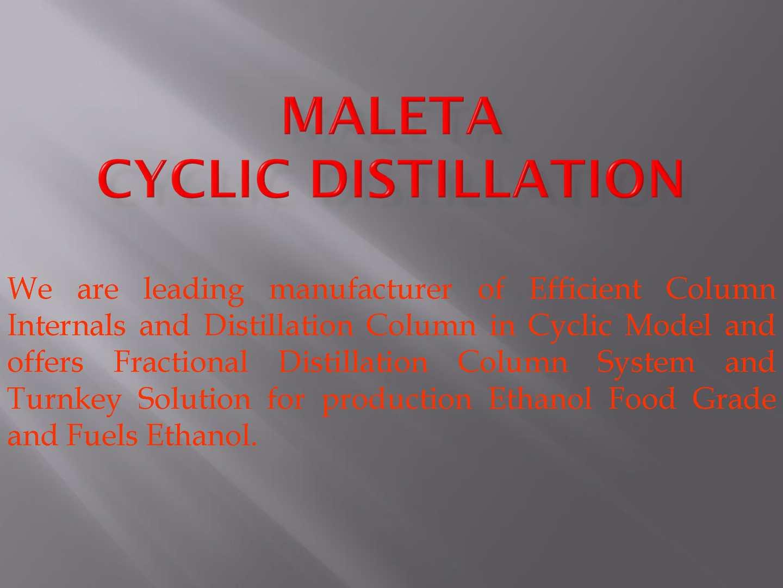Calaméo - Maletacd Fraction Distillation