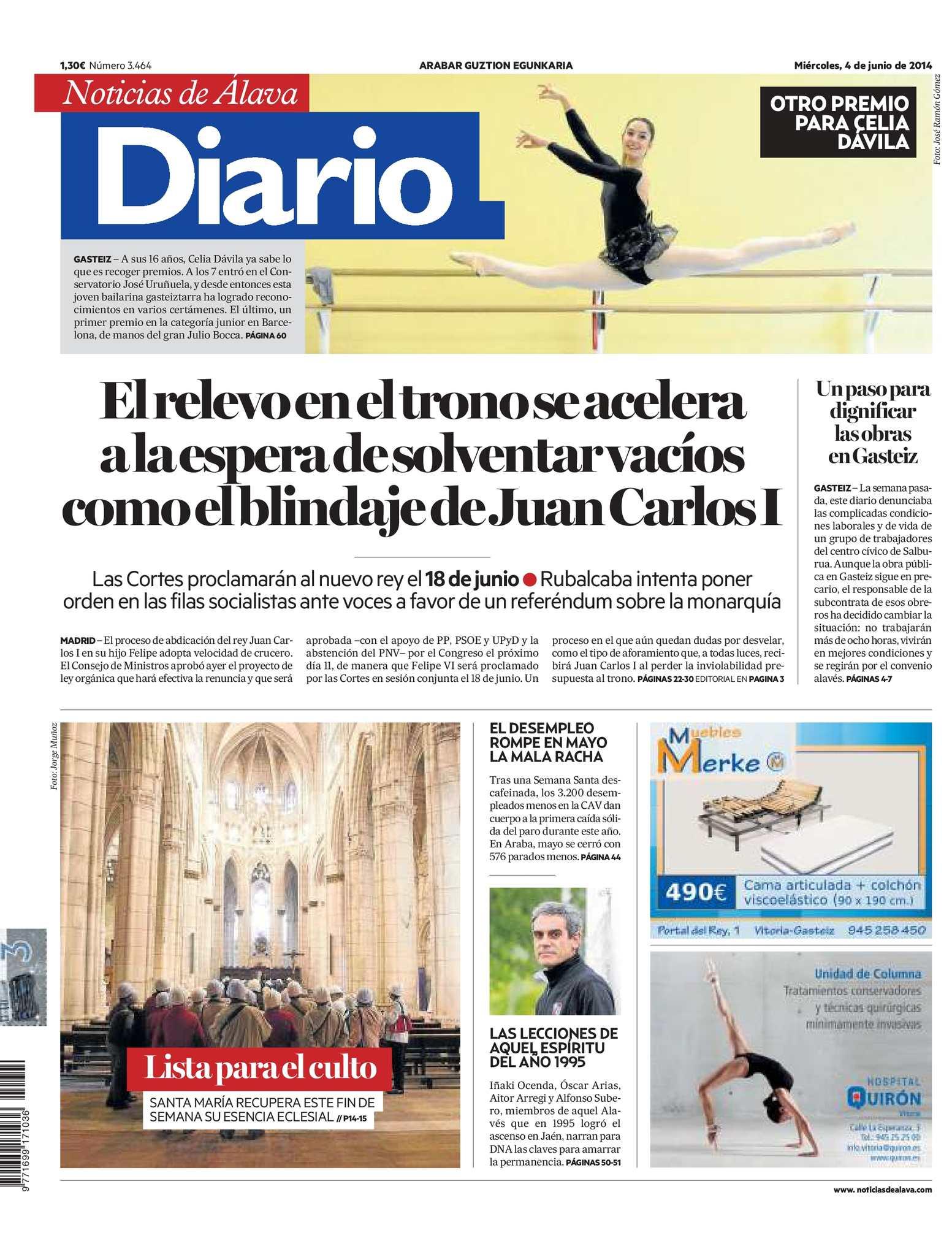 c33c2e89e1 Calaméo - Diario de Noticias de Álava 20140604
