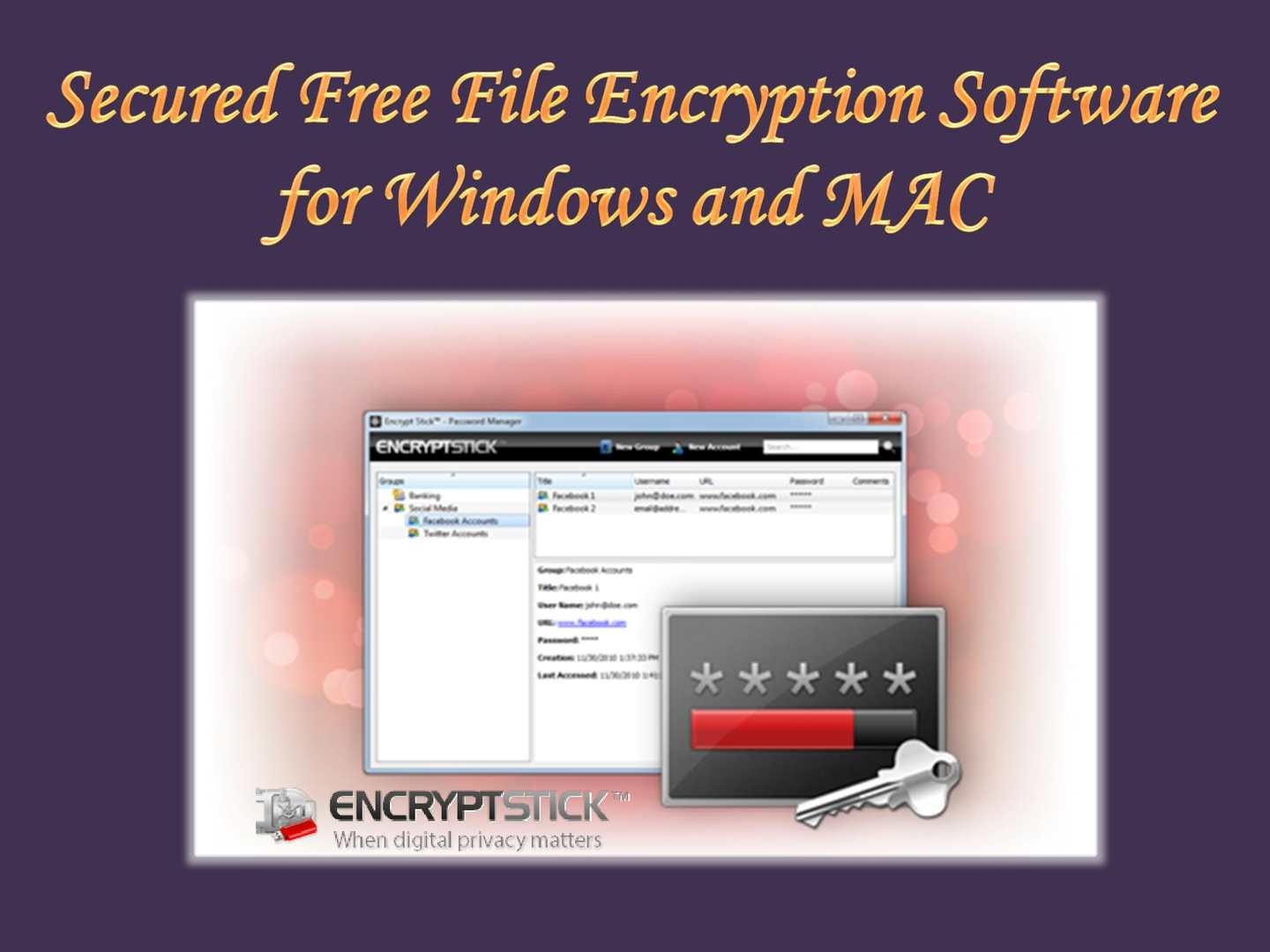 Calaméo - Secured Free File Encryption Software for Windows