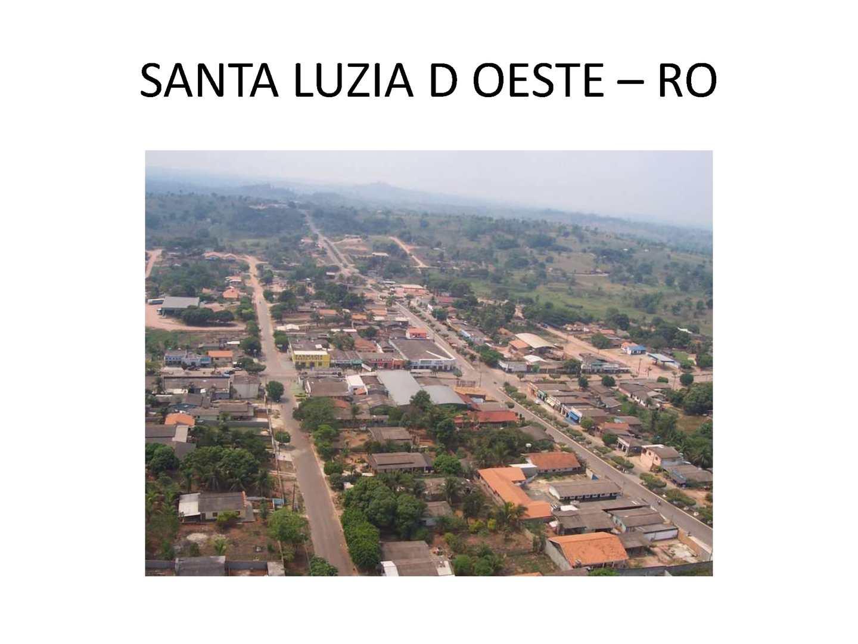 Santa Luzia d'Oeste Rondônia fonte: p.calameoassets.com