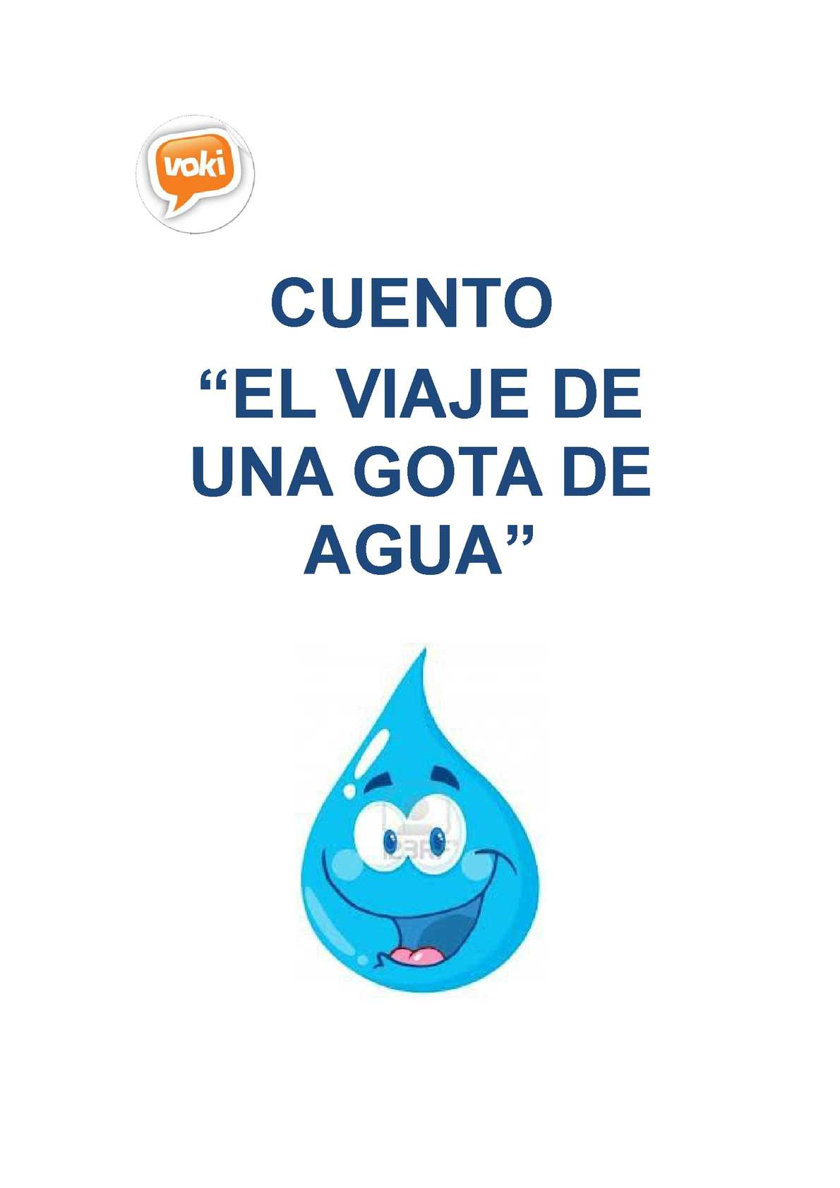 Calaméo Cuento Del Viaje De La Gota De Agua