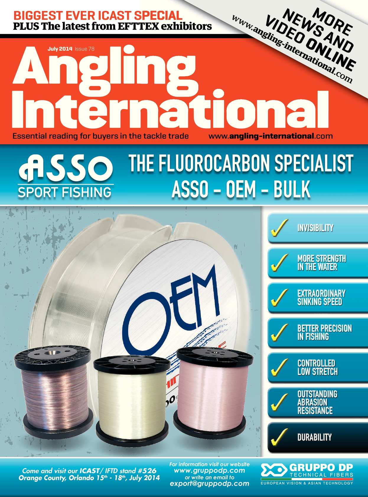 Calaméo - Angling International - July 2014 - Issue 78