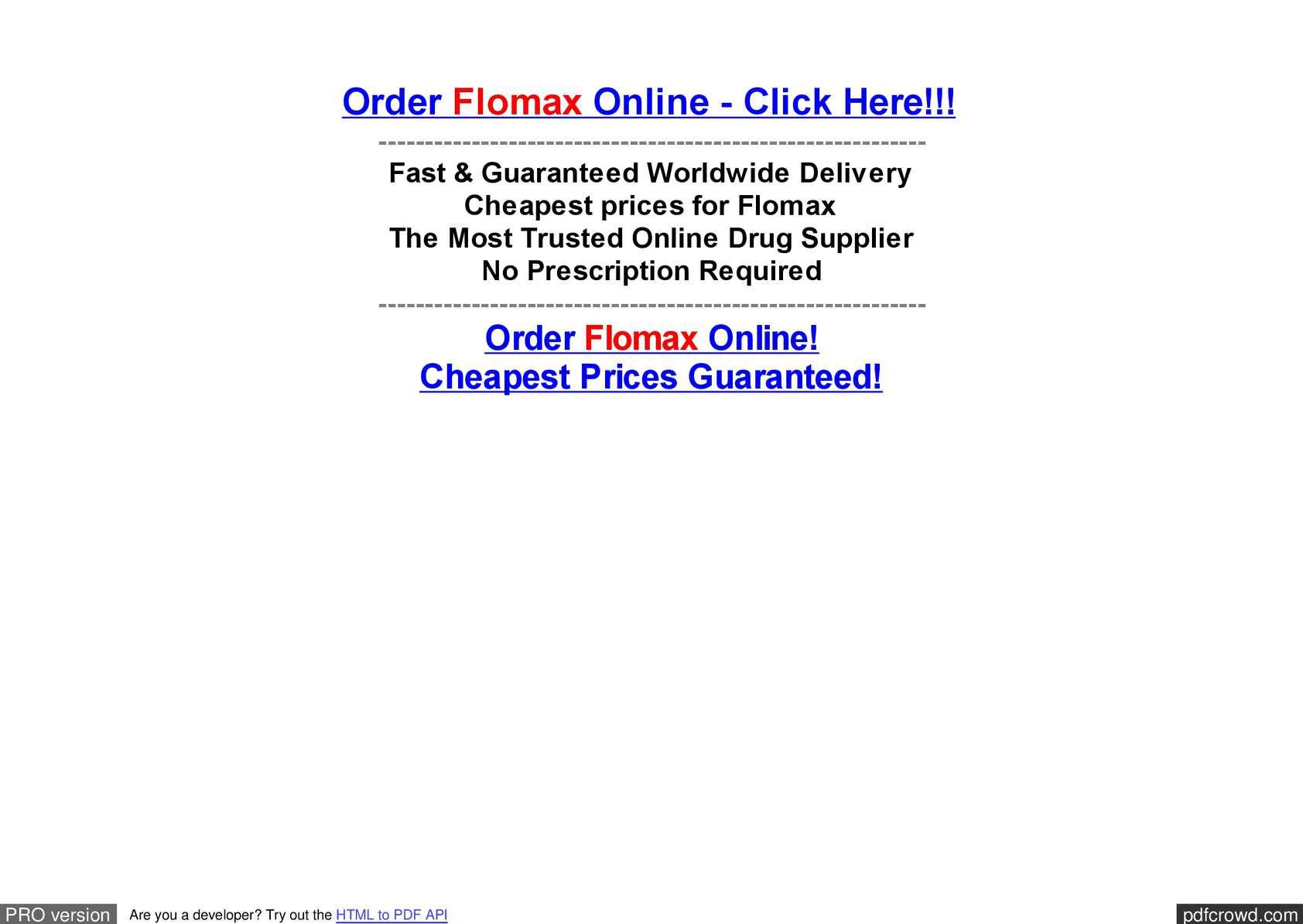 Calaméo - Buy Flomax Generic --- Flomax Discount Programs --- Buy