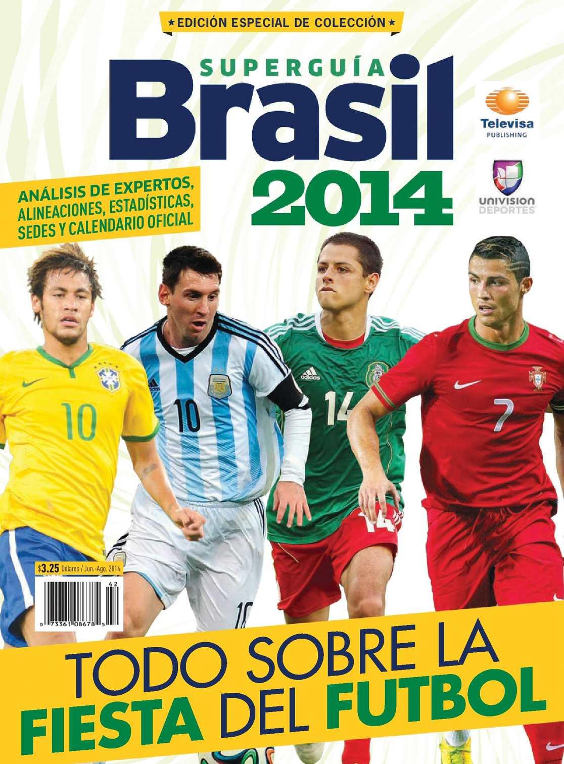 Calaméo - Super Guía de Fútbol Mundial 2014 636dae35f6fcc