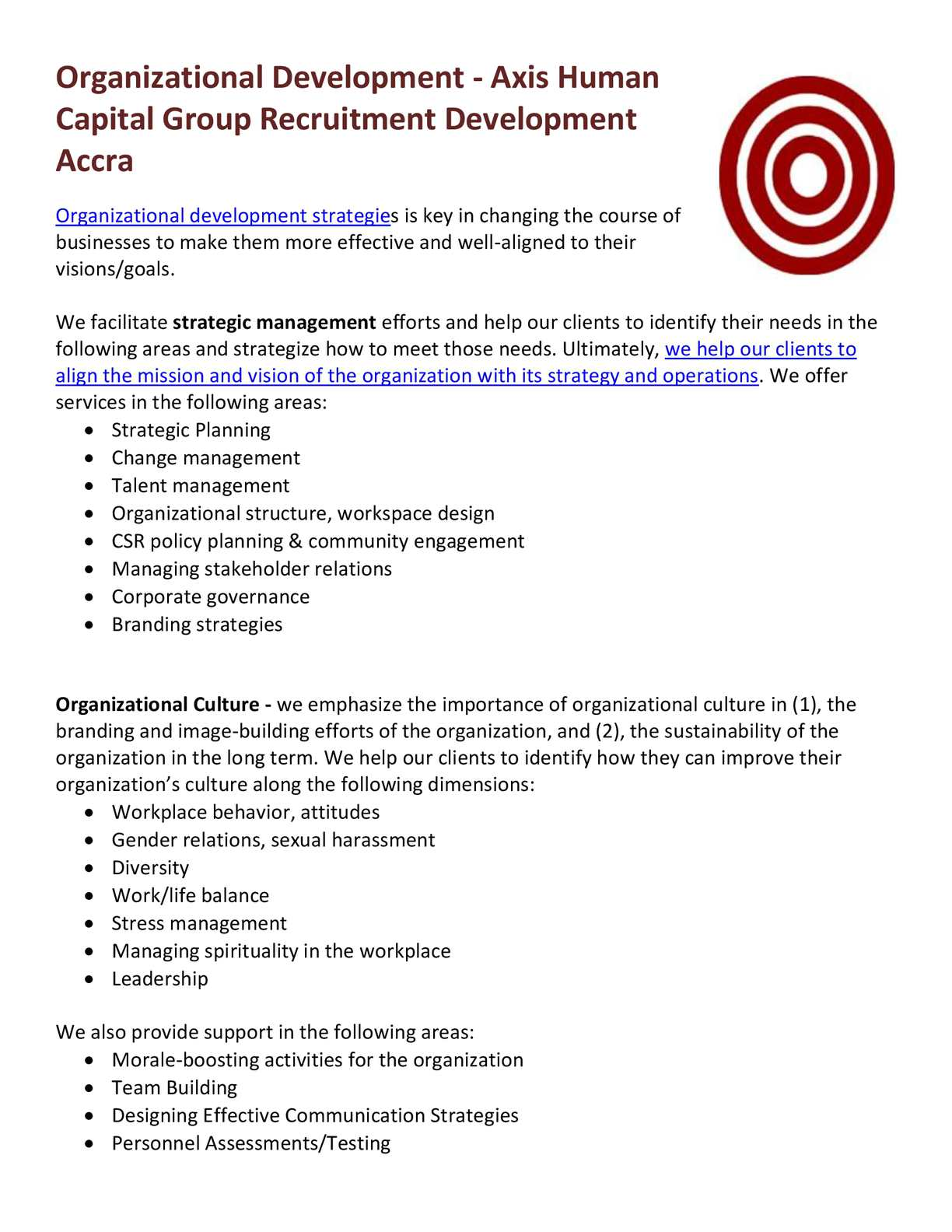 term paper on organizational design development and change management