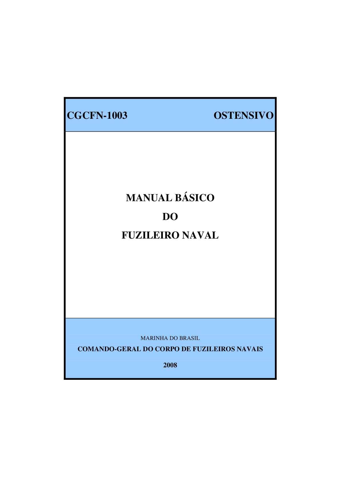 Calaméo - CGCFN-1003 - Manual Básico do Fuzileiro Naval 9e15cac9c3