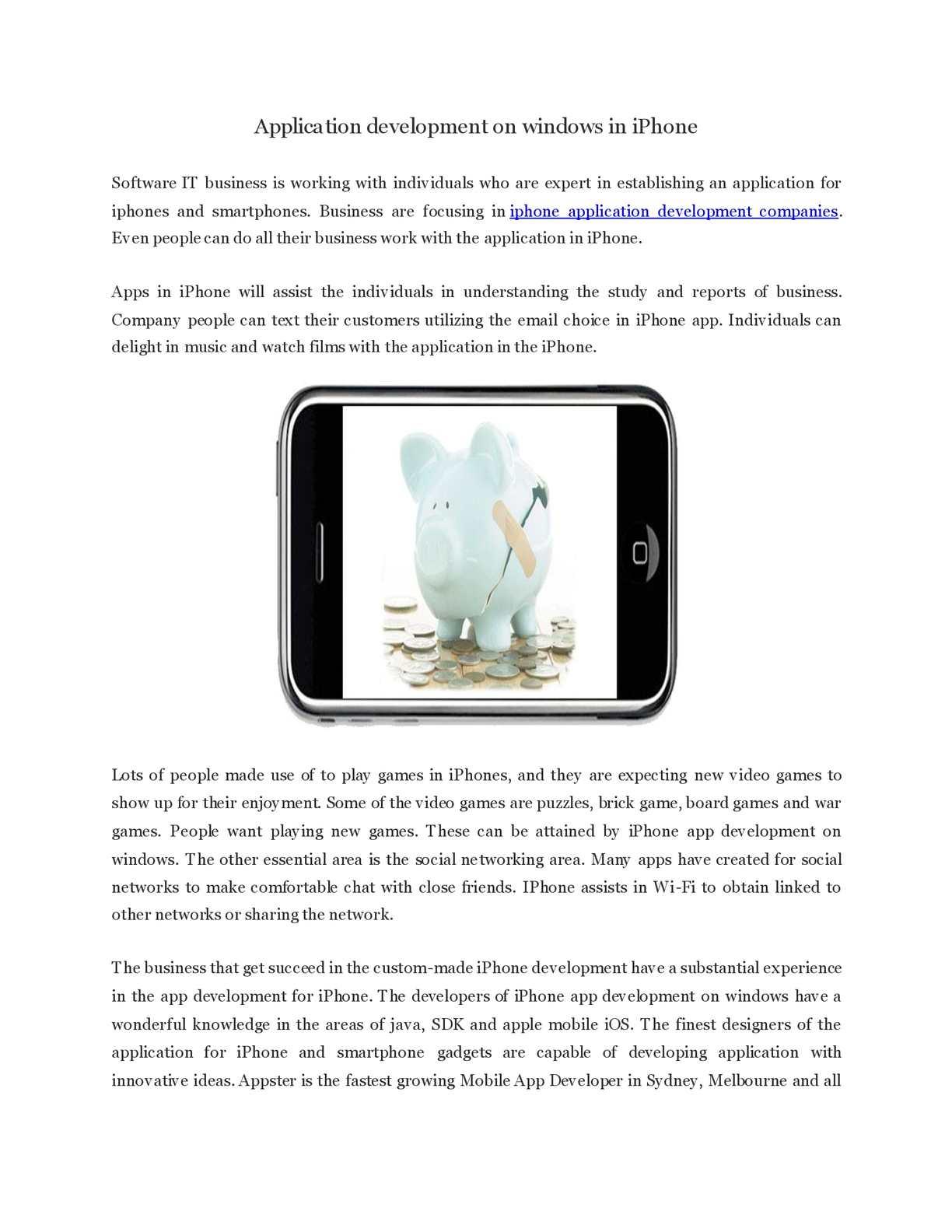 Calaméo - Application development on windows in iPhon1 pdf
