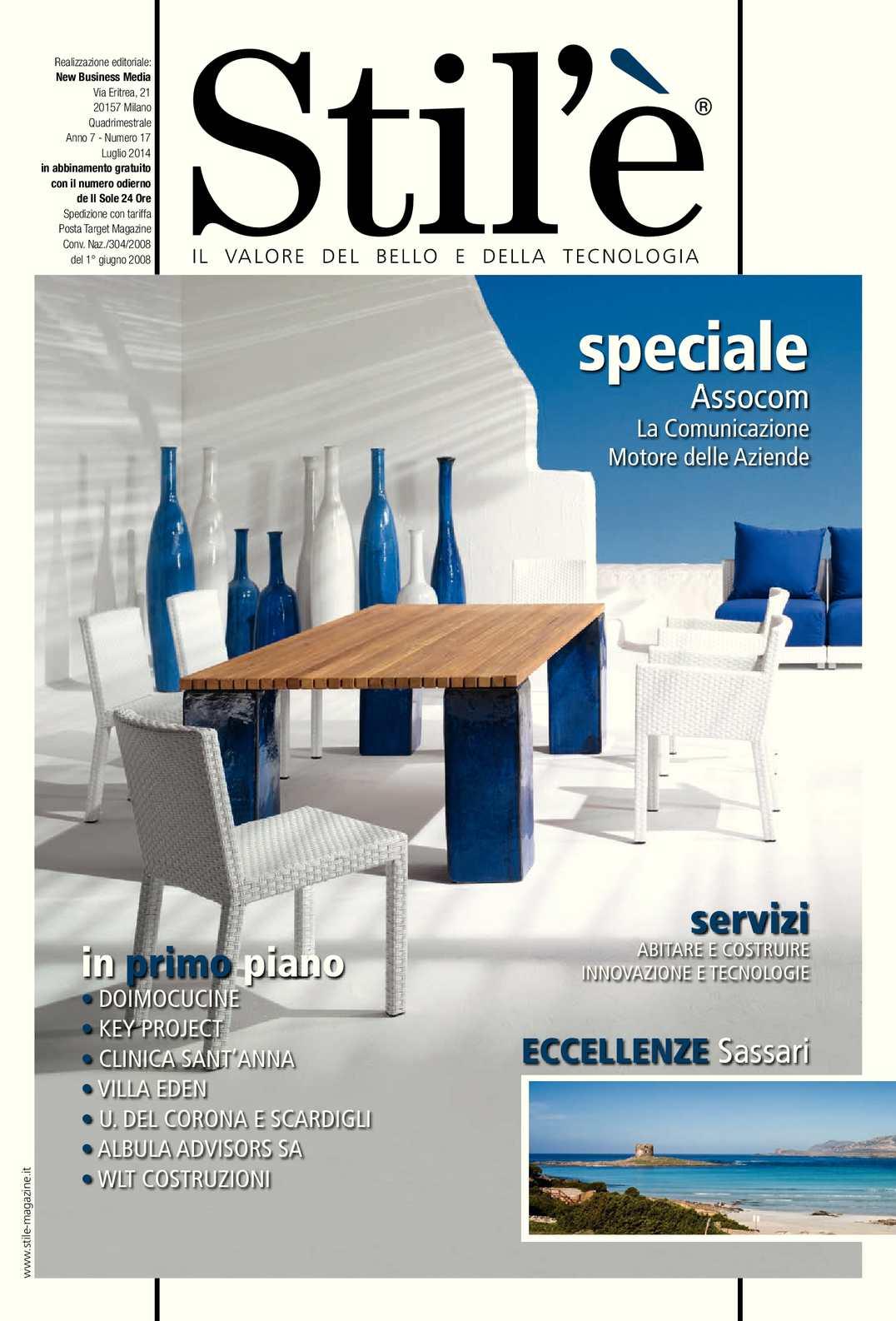 Calaméo - Stil è Magazine Luglio 2014 02c7310af57