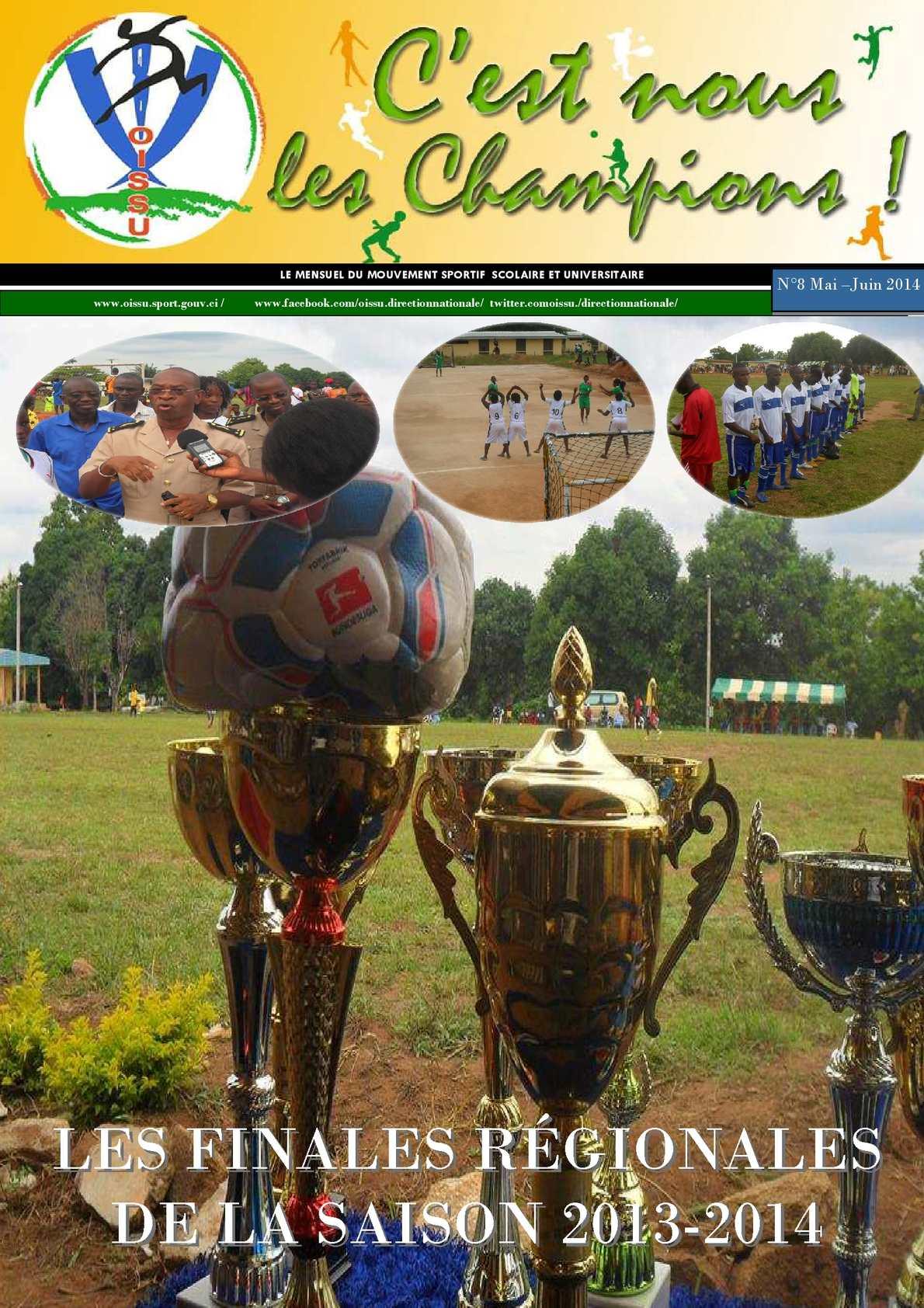Calaméo - champions juin