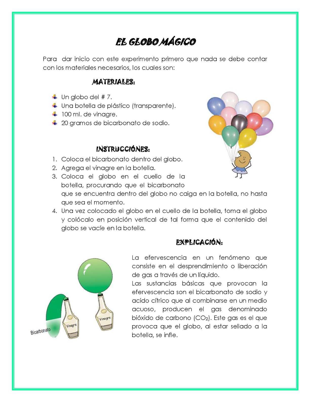Calameo El Globo Magico - Experimentos-para-nios-con-globos