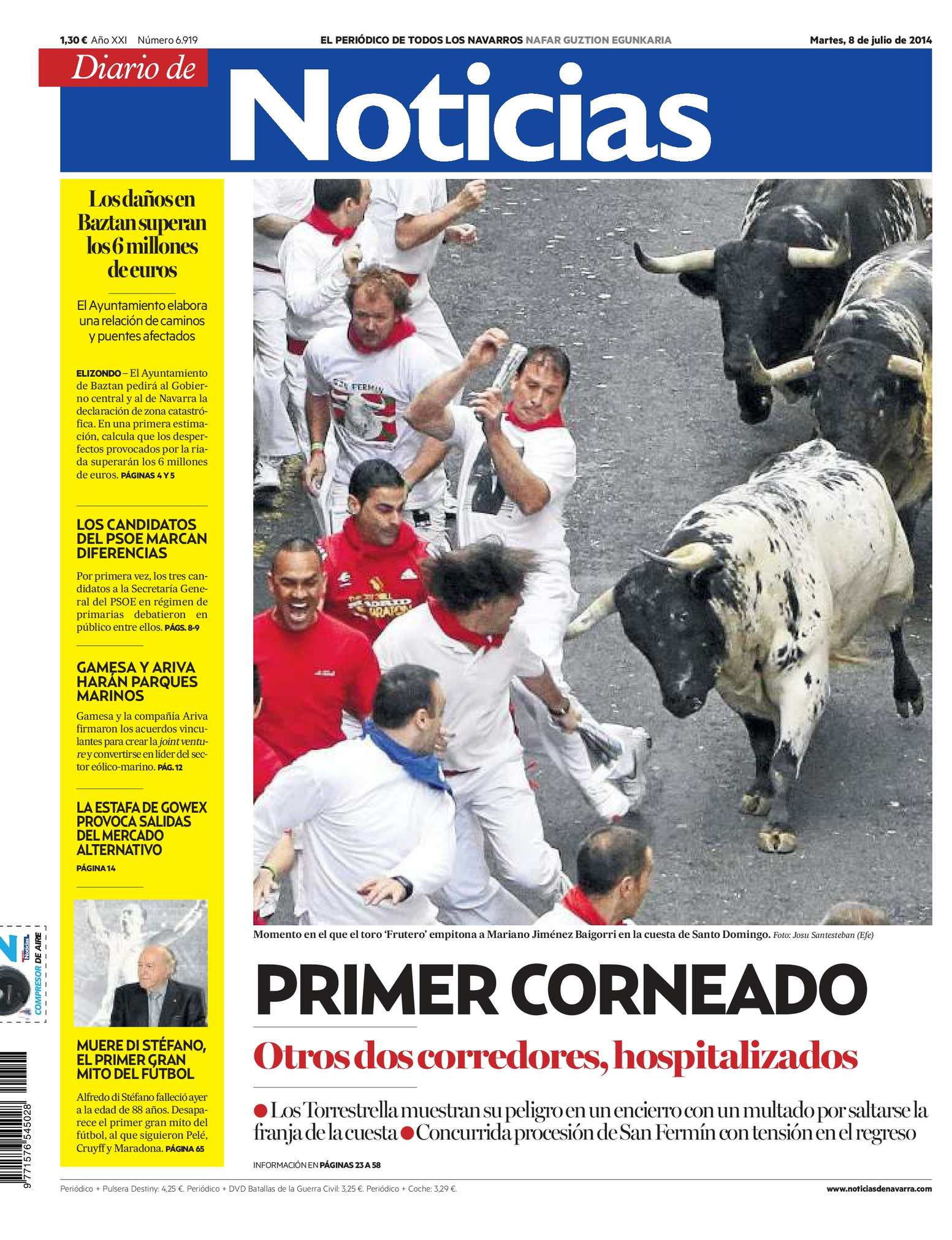brand new 276c8 2abc3 Calaméo - Diario de Noticias 20140708
