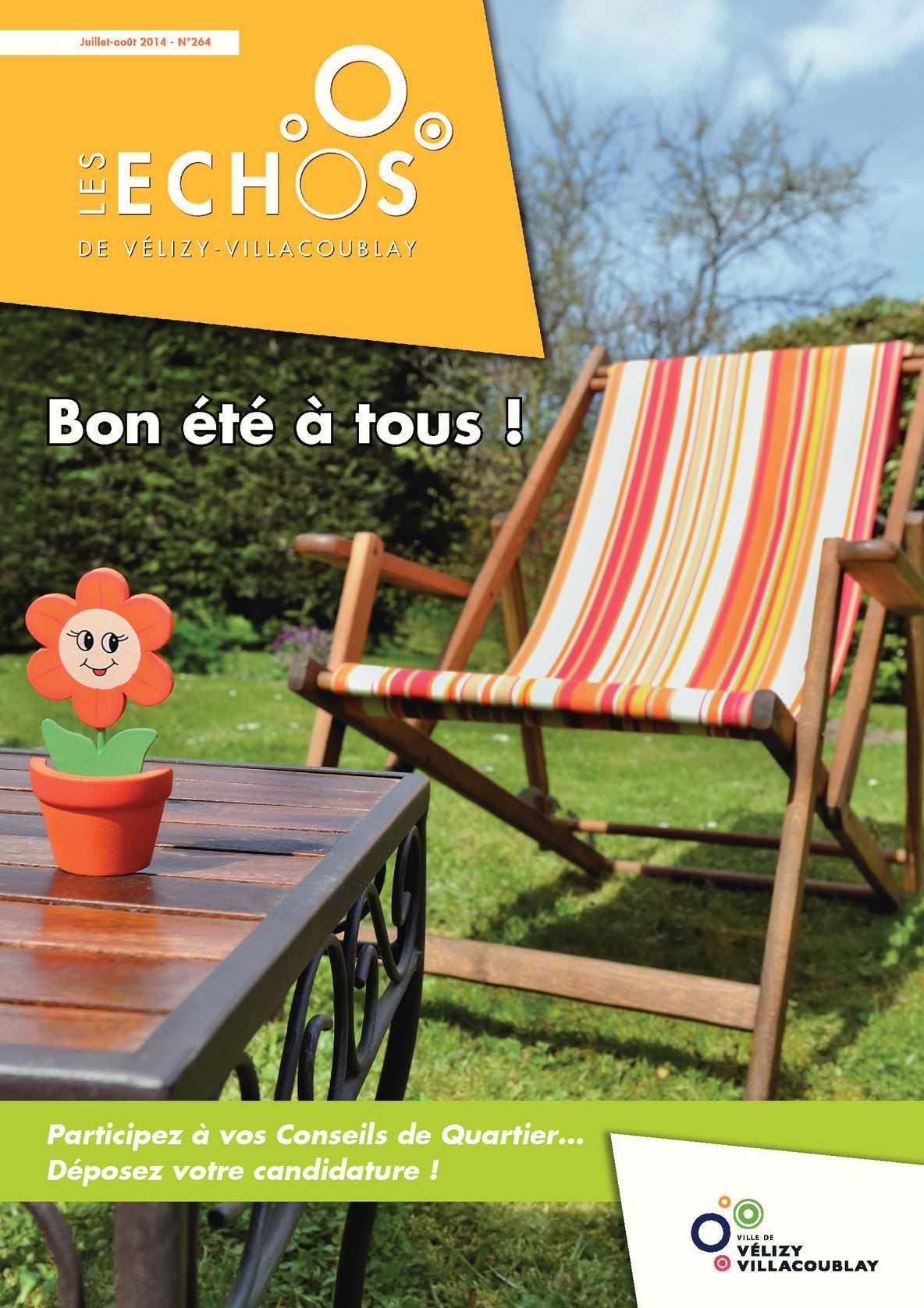 Les Calaméo 2014 Juillet Août N°264 Echos DEH9YW2I