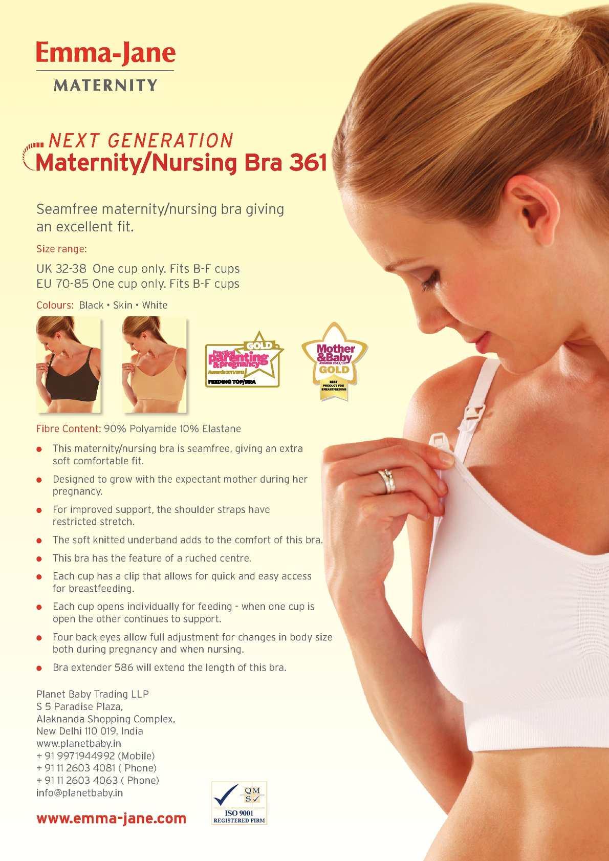 42779504831 Calaméo - Emma -Jane Maternity Nursing Bra