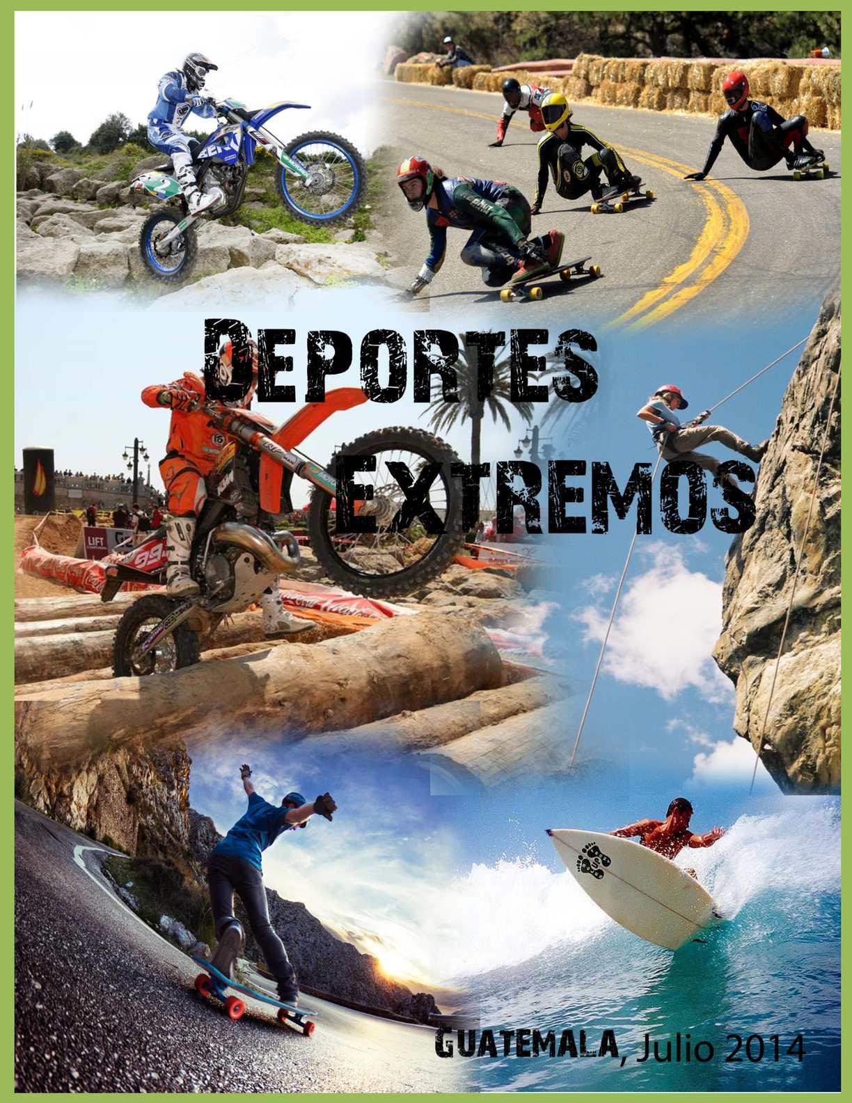 Calameo Deportes Extremos En Guatemala