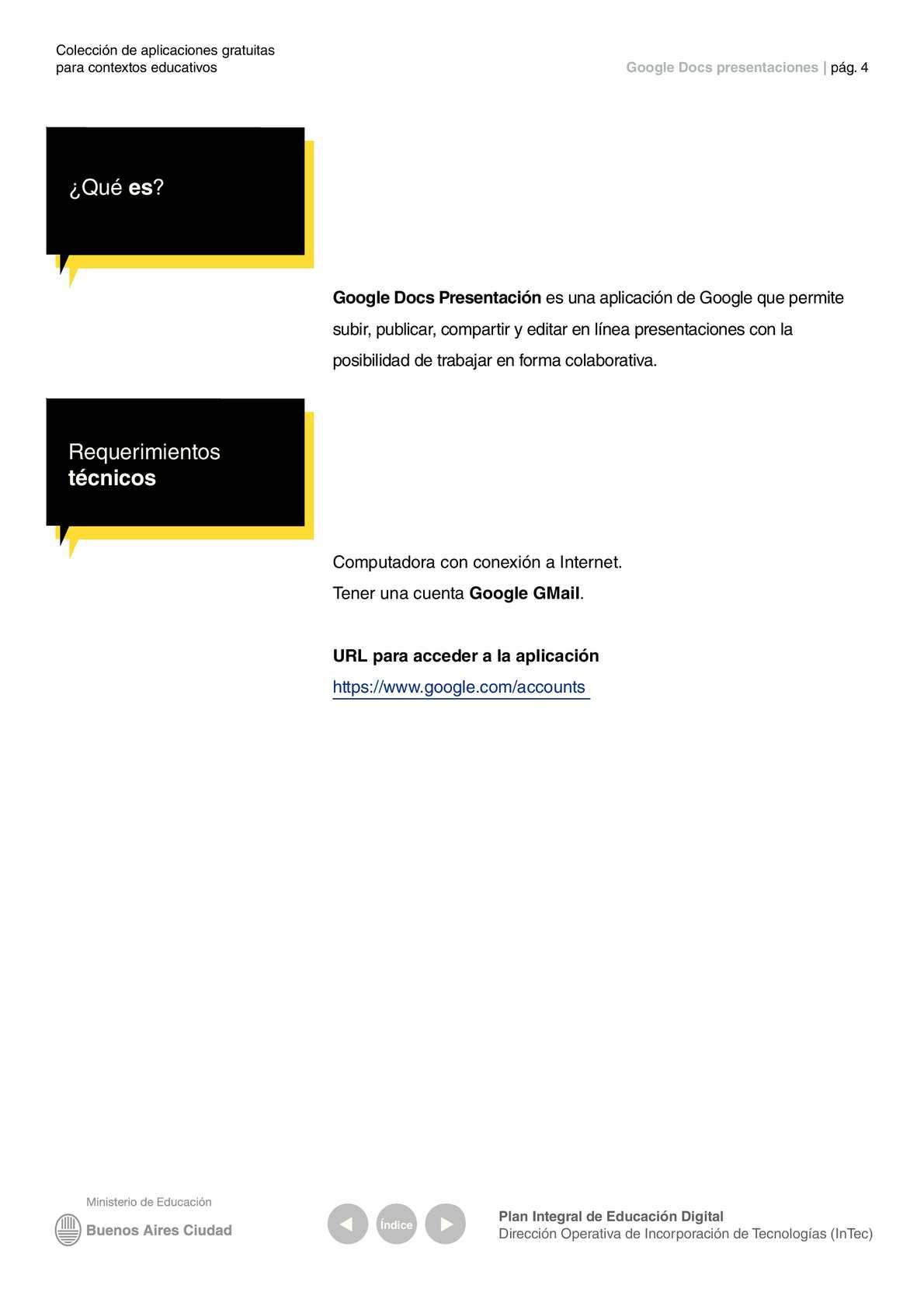 tutorial google docs presentaciones calameo downloader