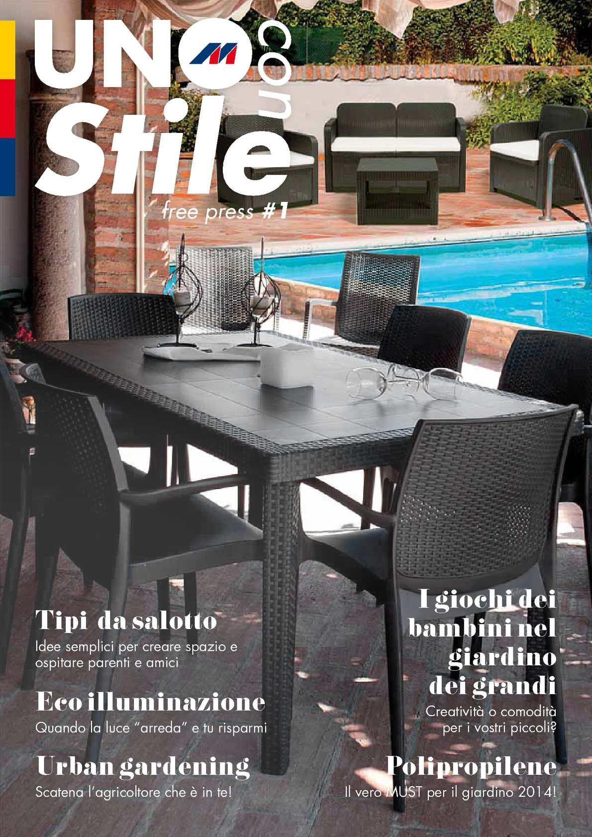 Mercatone Uno Ombrelloni Da Giardino.Calameo Mercatone Uno Magazine 2014