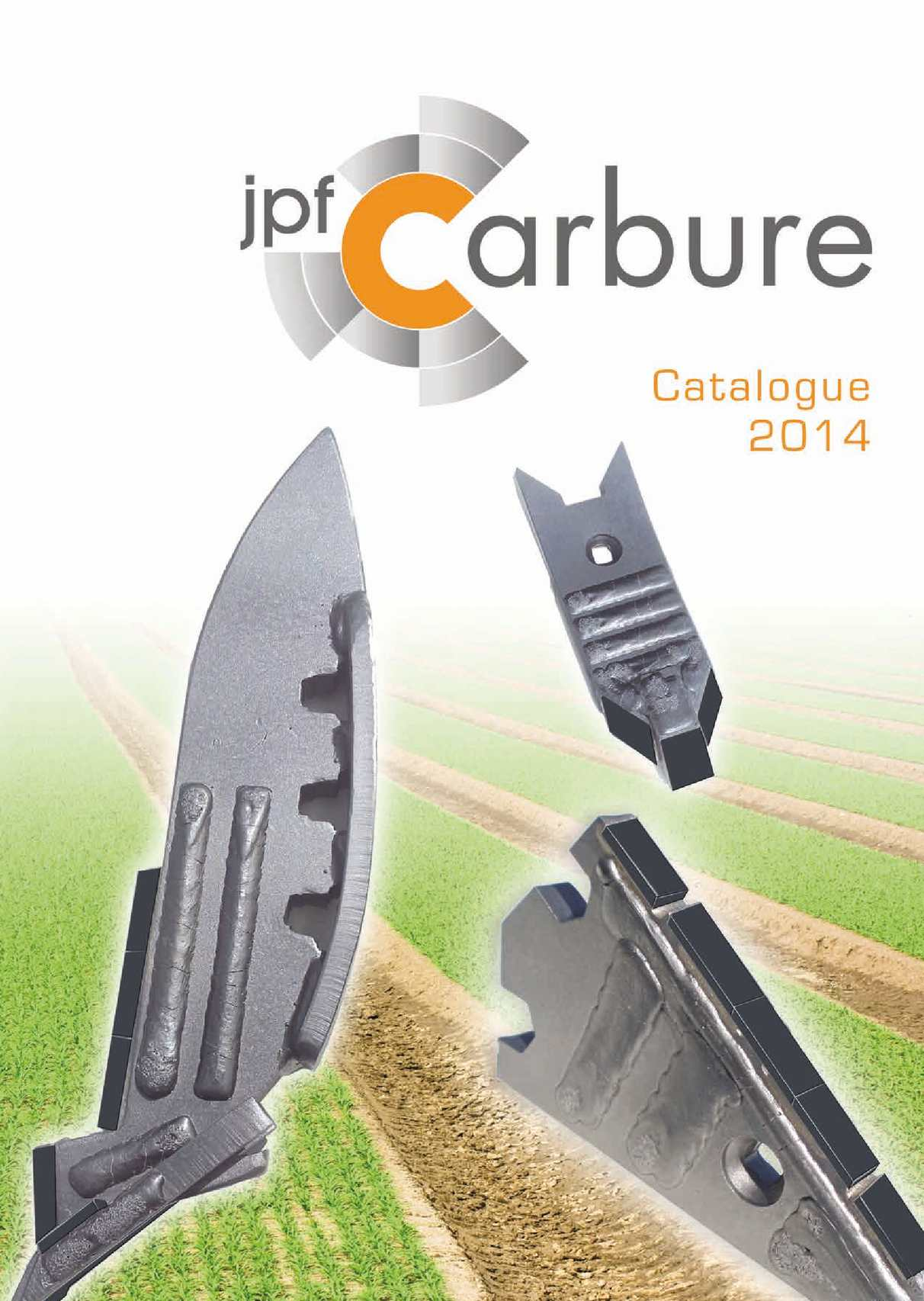 JPF CARBURE - Catalogue 2014