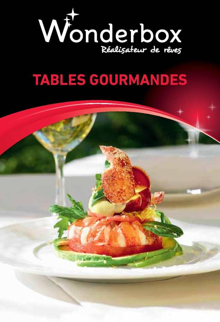 Calam o ga01 tables gourmandes sc - Wonderbox tables gourmandes ...