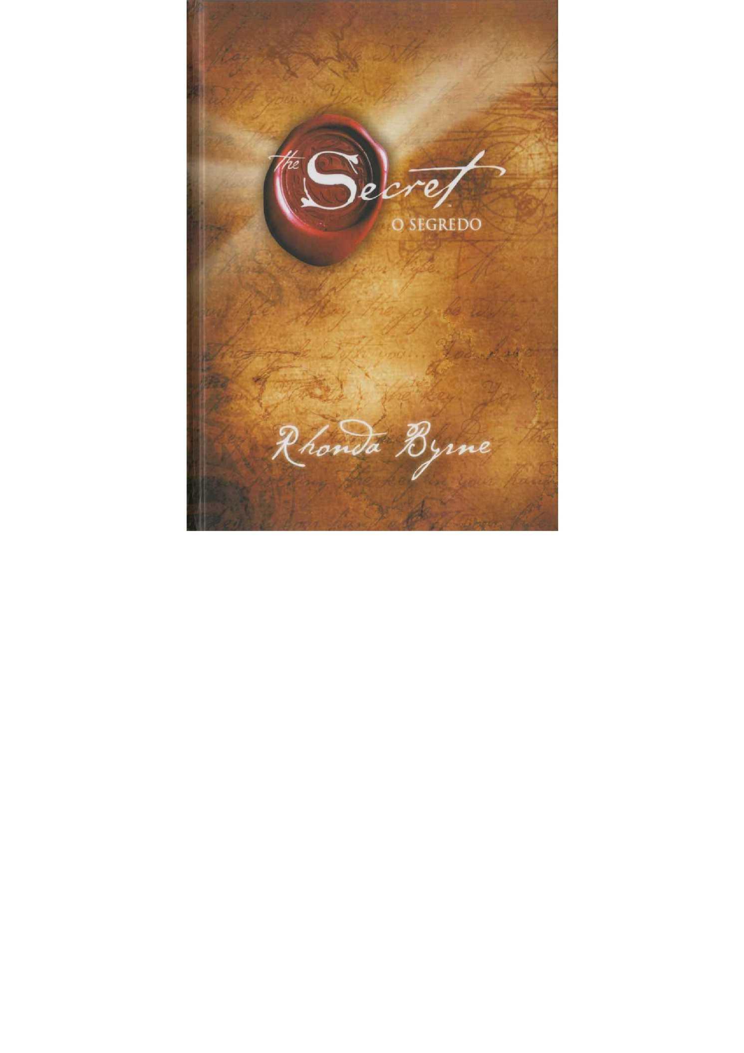 The Secret By Rhonda Byrne Pdf In English