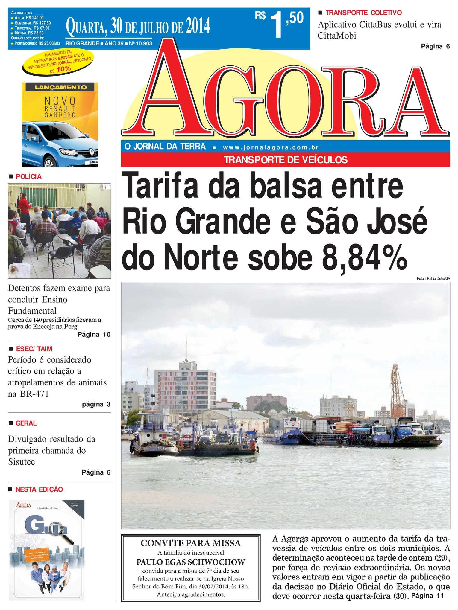 Calaméo - Jornal Agora - Edição 10903 - 30 de julho de 2014 e6d674007436c